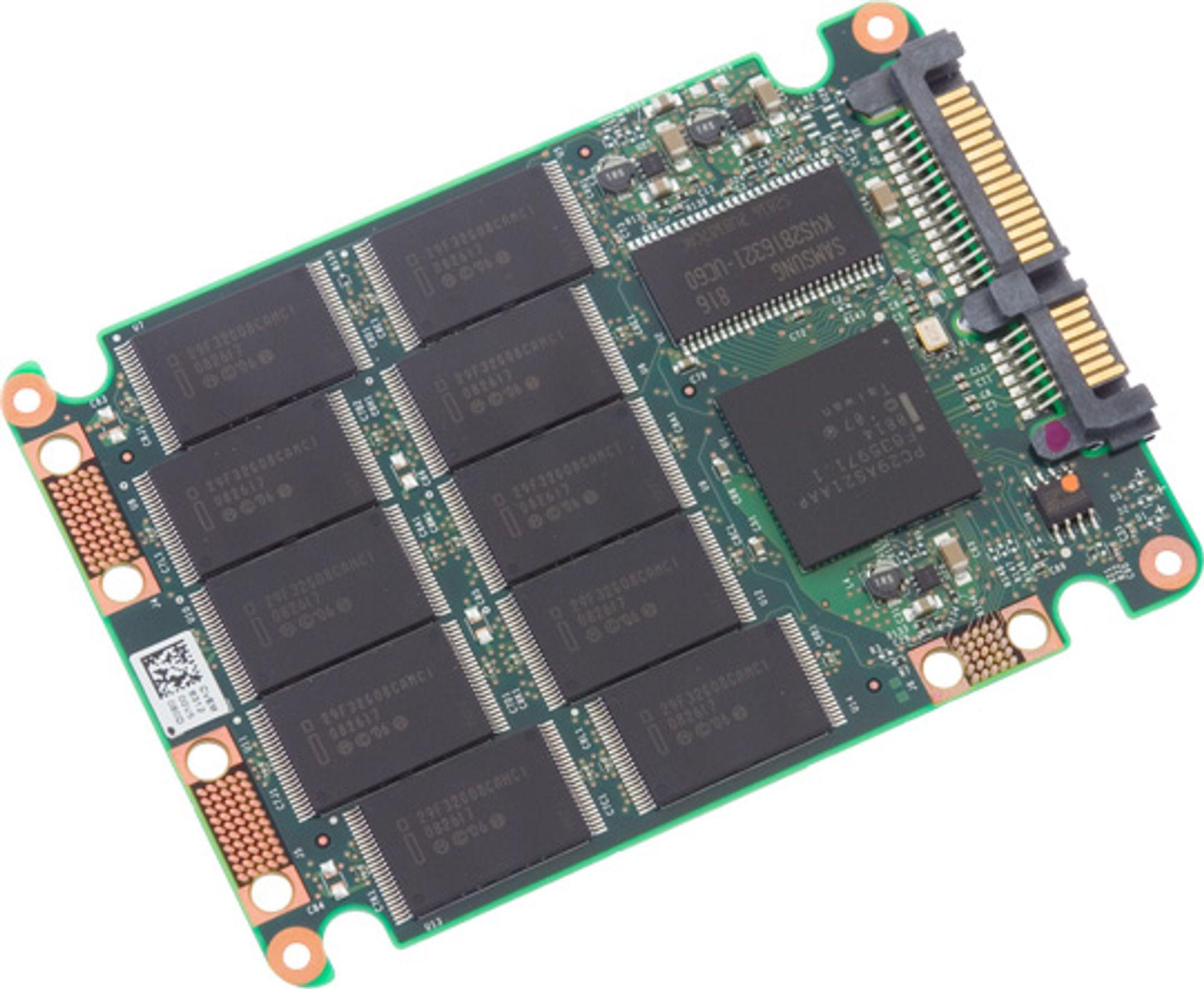 Illustrasjon: SSD fra Intel