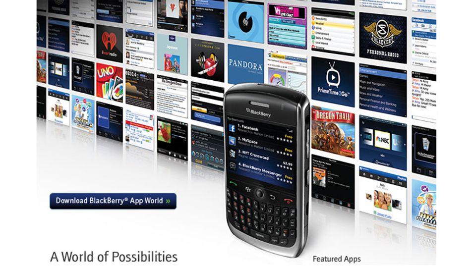 Blackberry får butikk