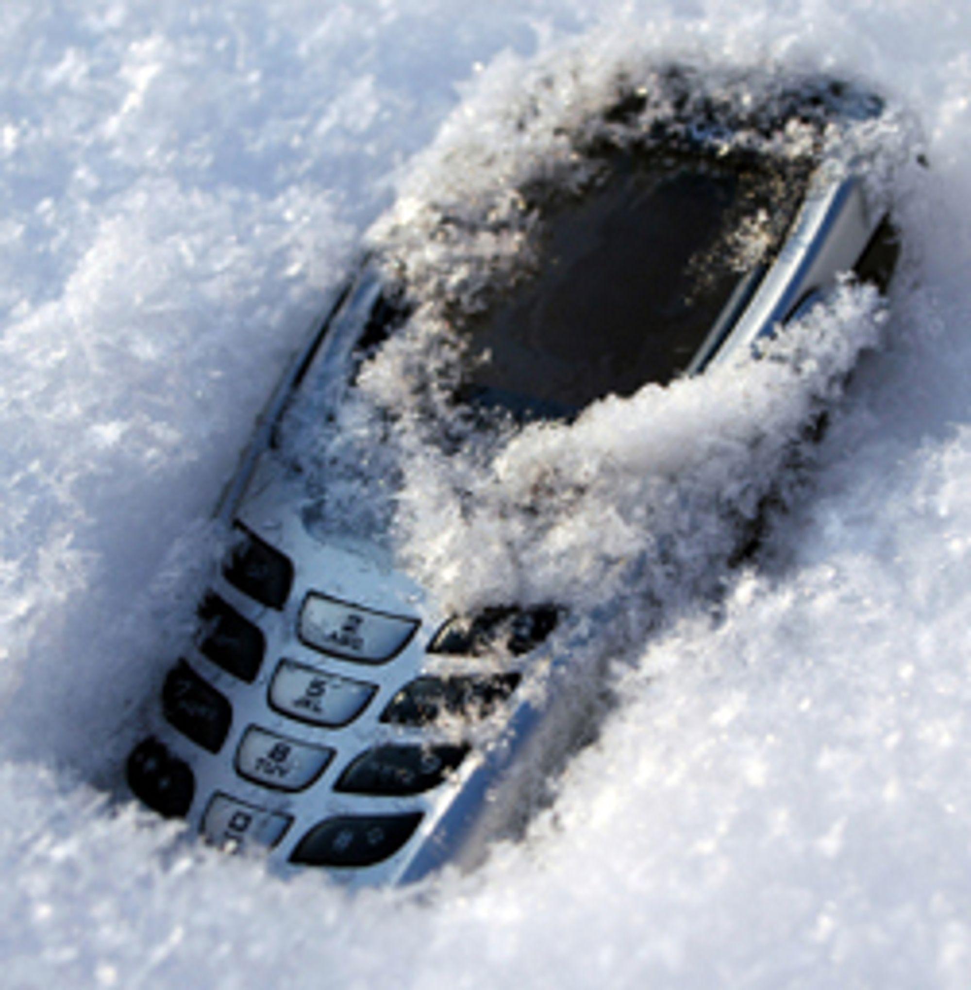 Ikke alle telefoner liker fuktighet. (Foto: Istockphoto)