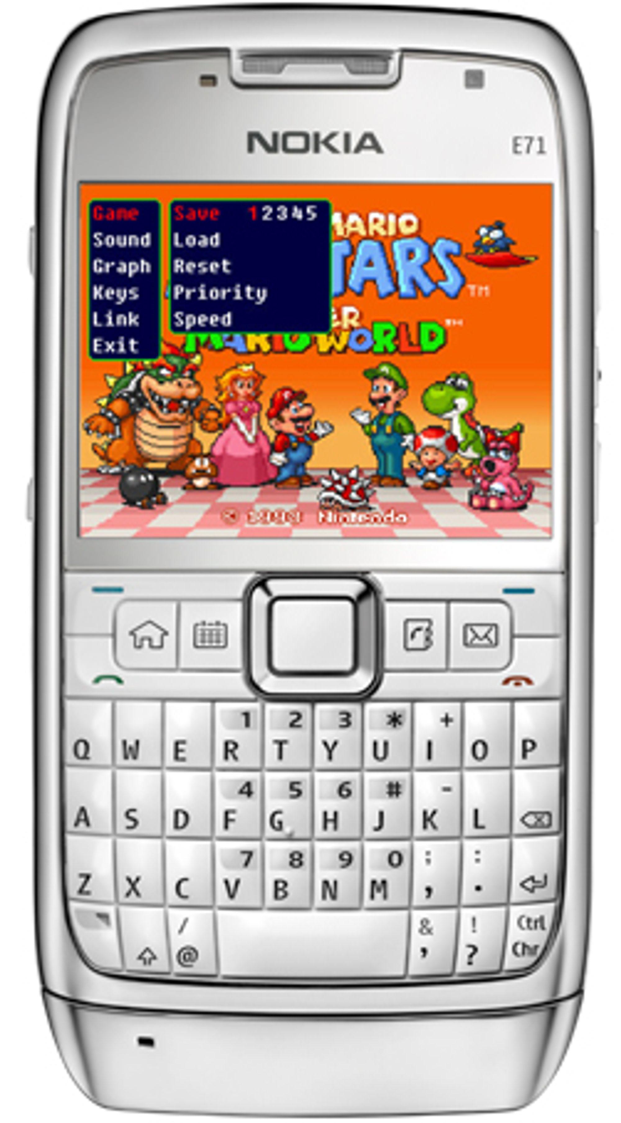Vsun lar deg spille Super Nintendo-spill på mobilen din.