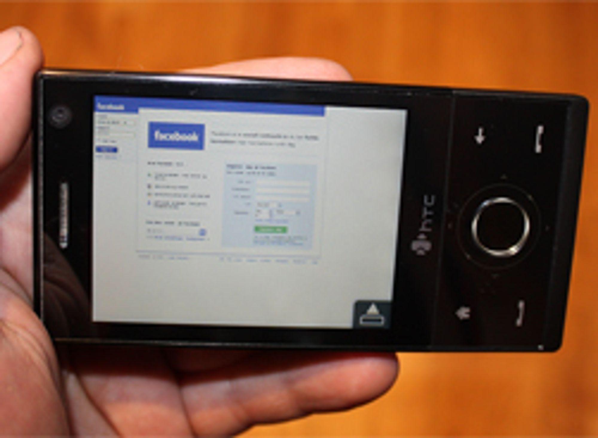 Opera Mobile gir deg skikkelig surfing på Windows-mobilen.