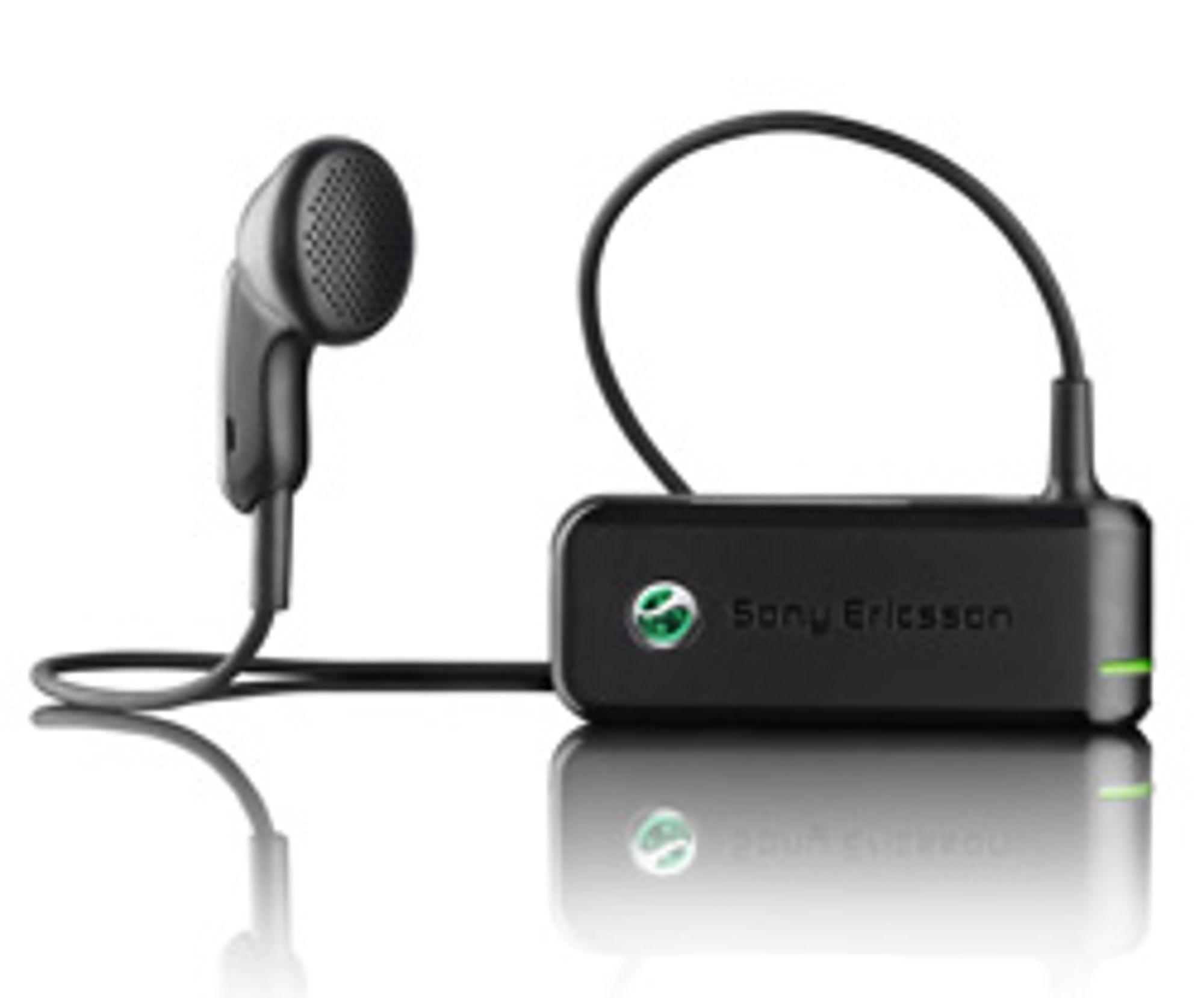 VH300 fra Sony Ericsson. (Alle foto: Sony Ericsson)