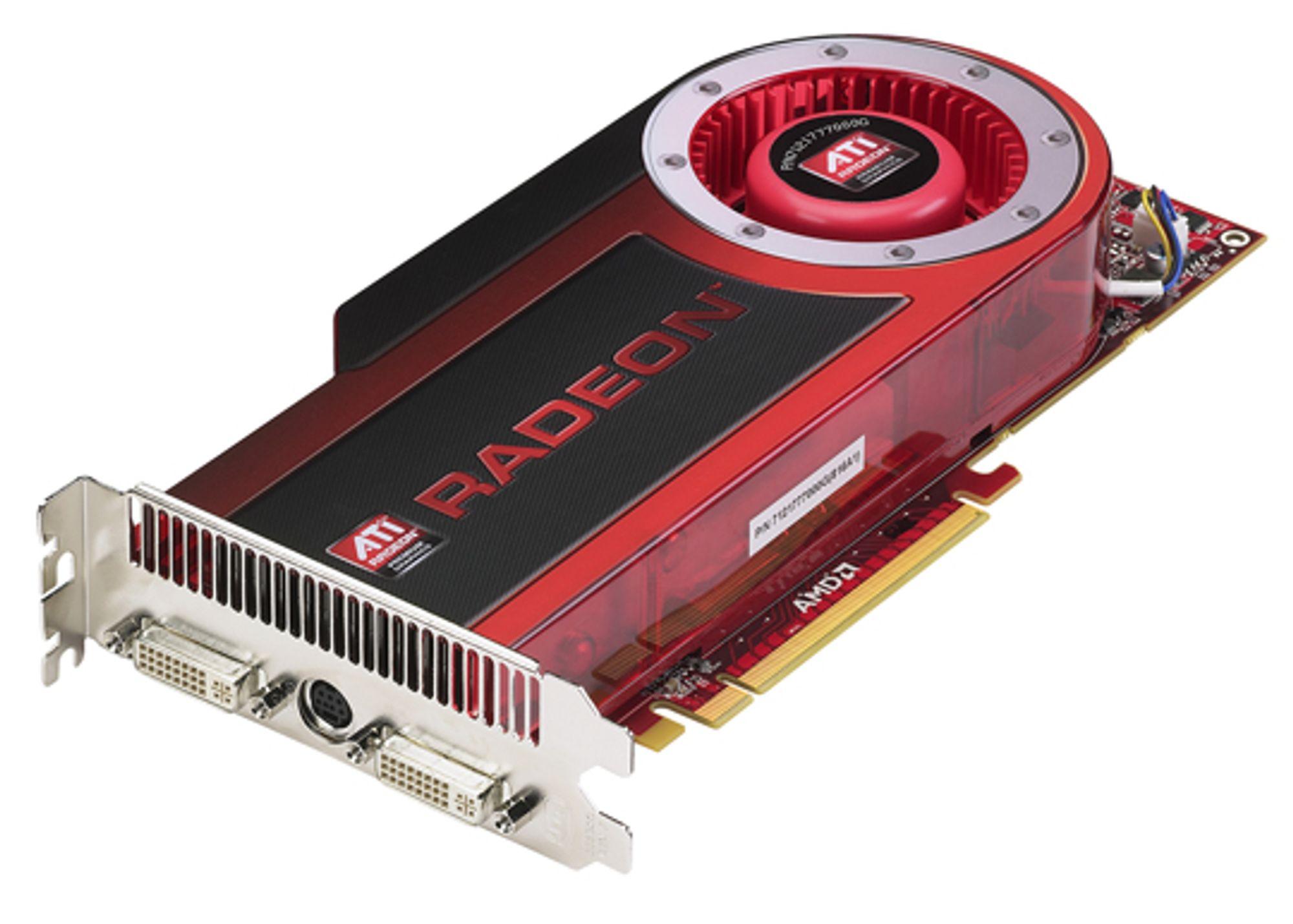 Radeon HD 4870 får snart en lillebror