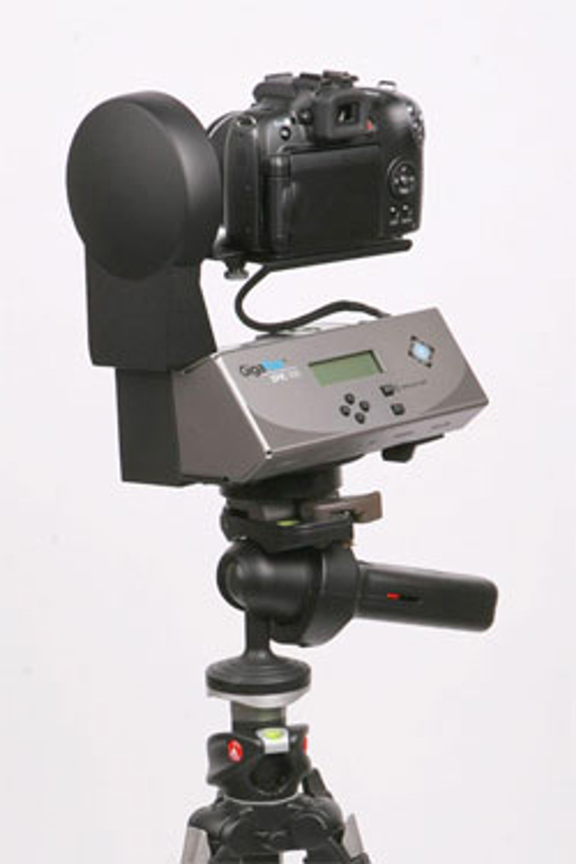 Enkel innretning for å få store bilder. Koster kanskje ikke mer enn kameraet ditt.