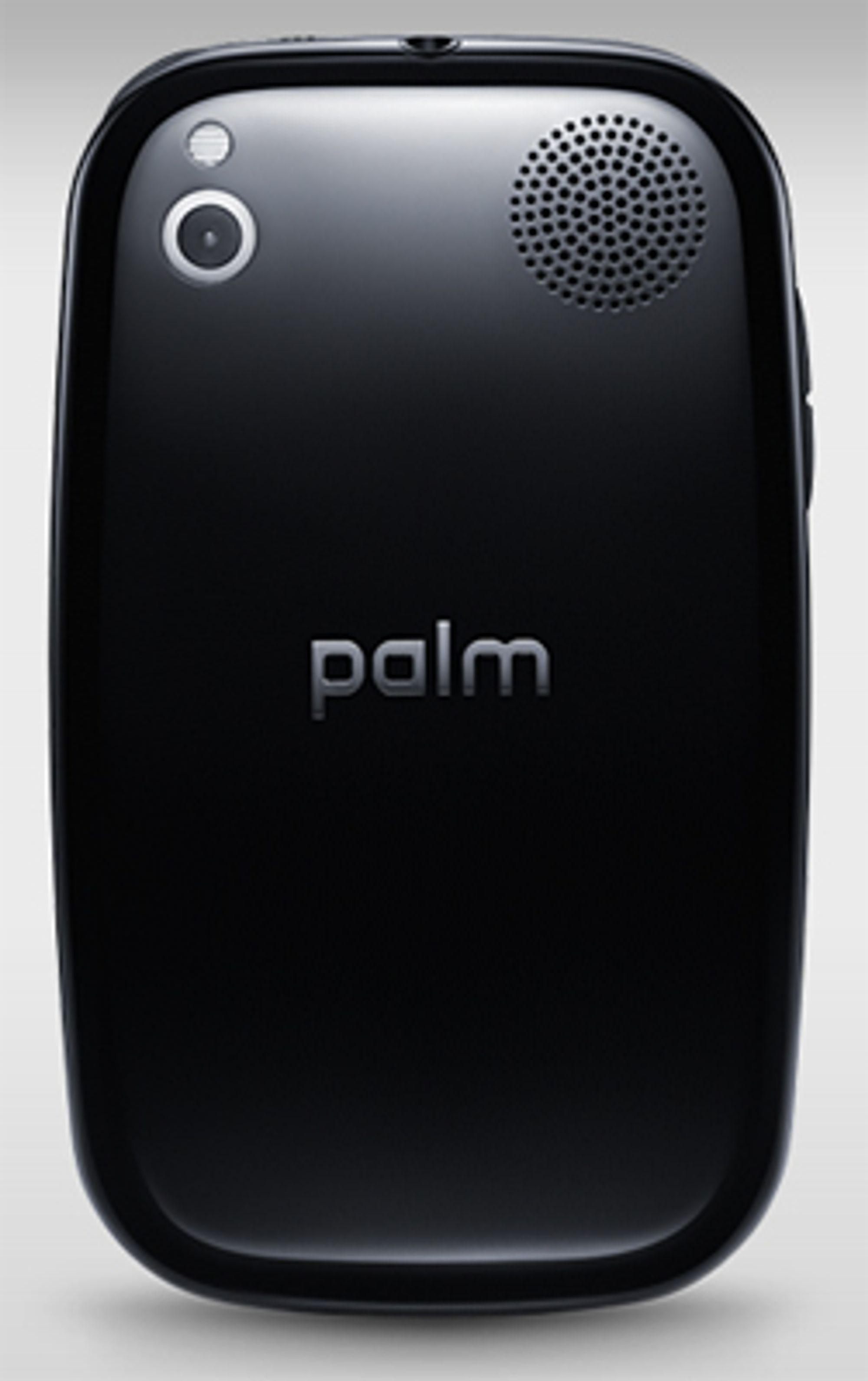 Telefonen har fått stilren design.