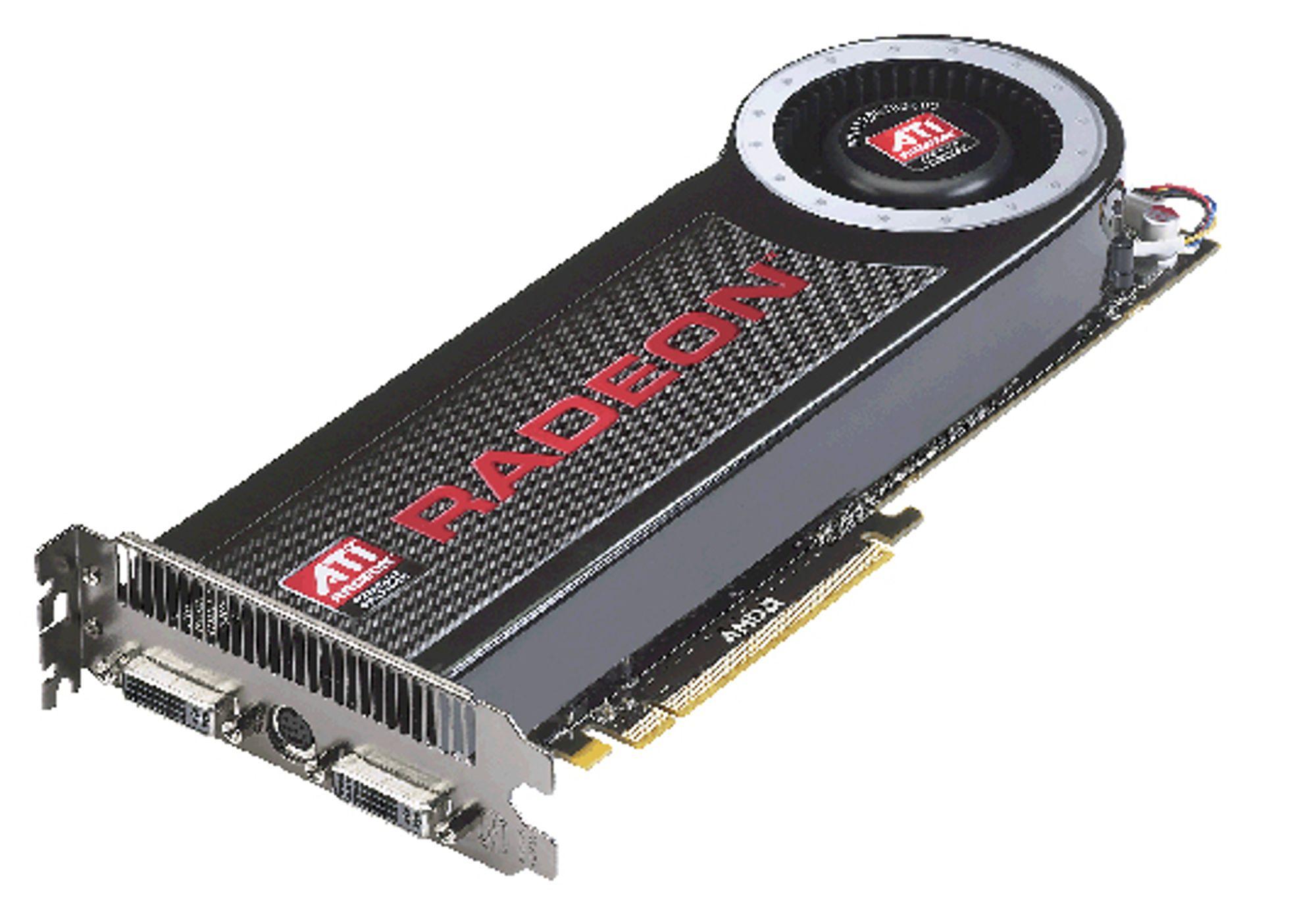 Illustrasjonsbilde: Radeon HD 4870 X2
