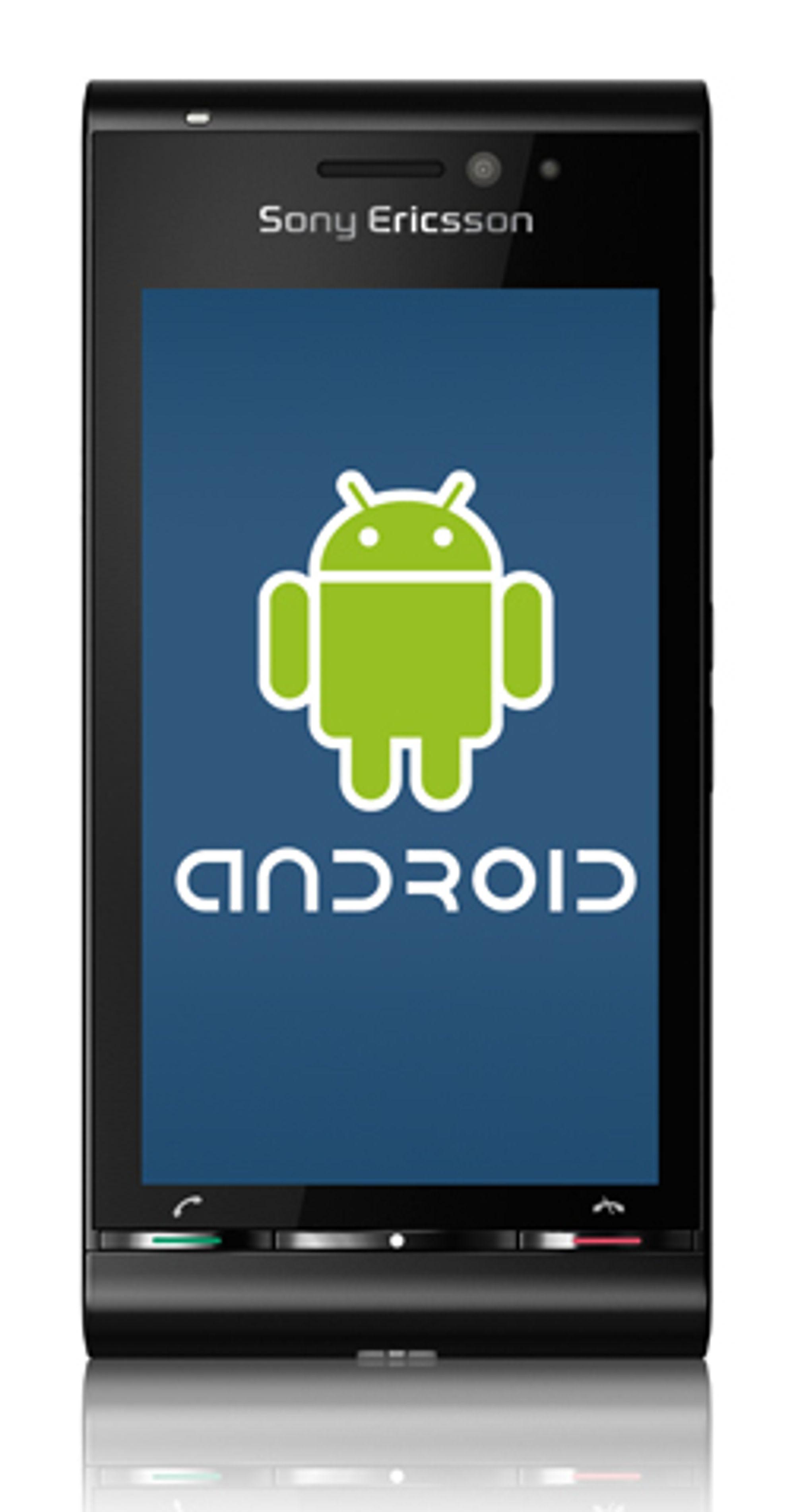 Ingen Android-telefon fra Sony Ericsson med det første.