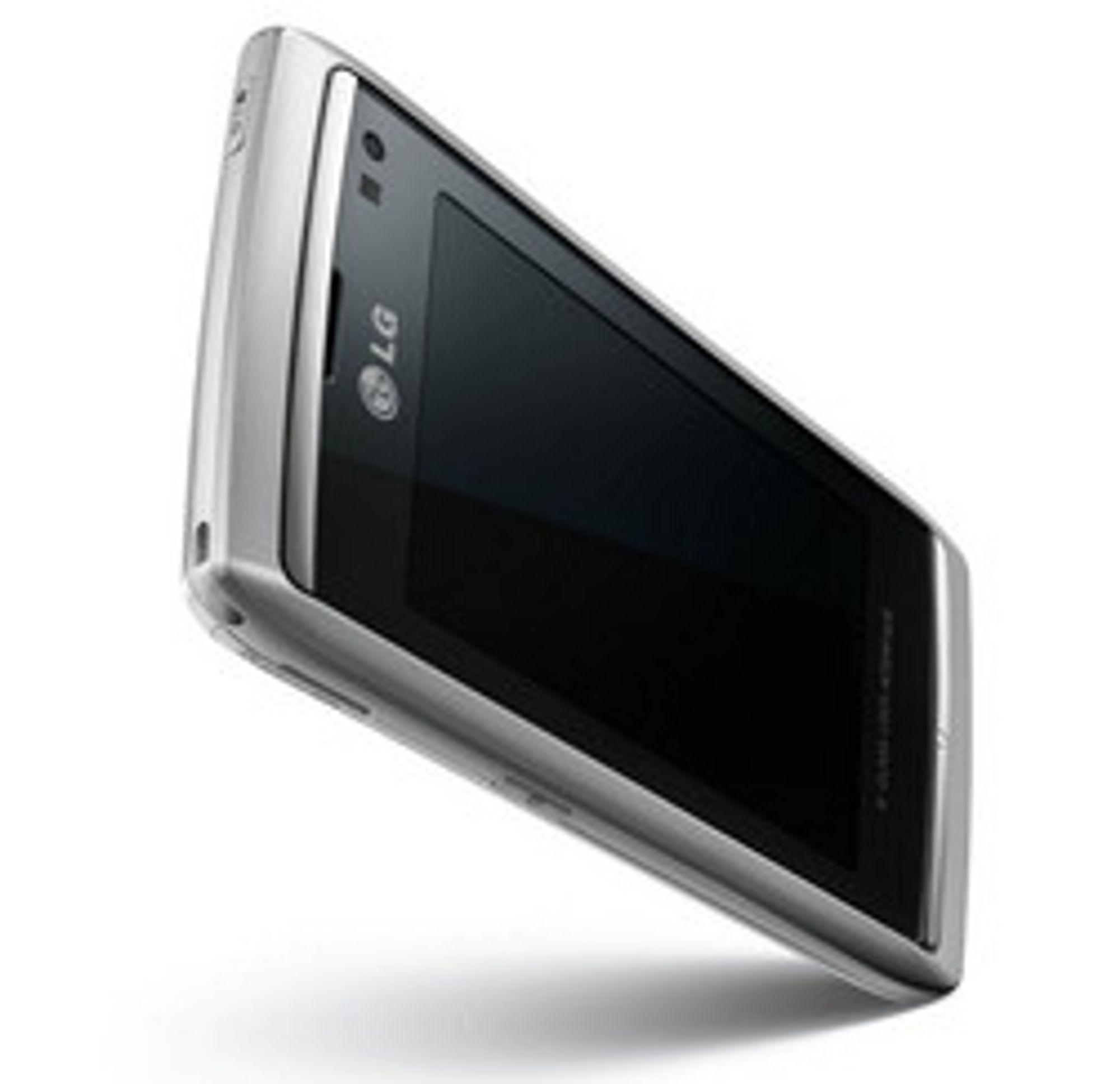 LG viser gjerne frem Viewty Smart. (Foto: LG)