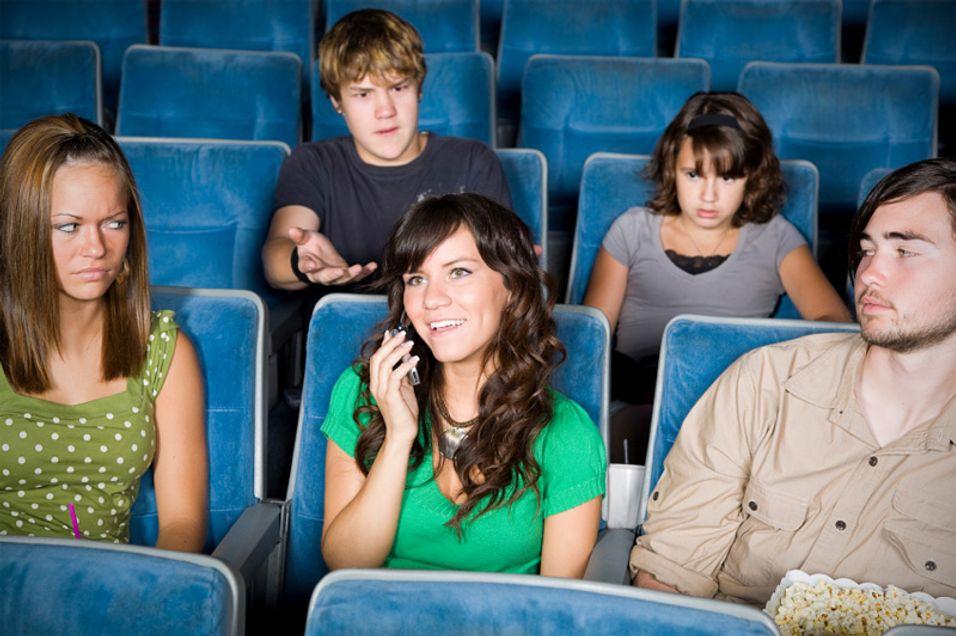 Mobilbruk nær andre kan fort føre til irritasjon.