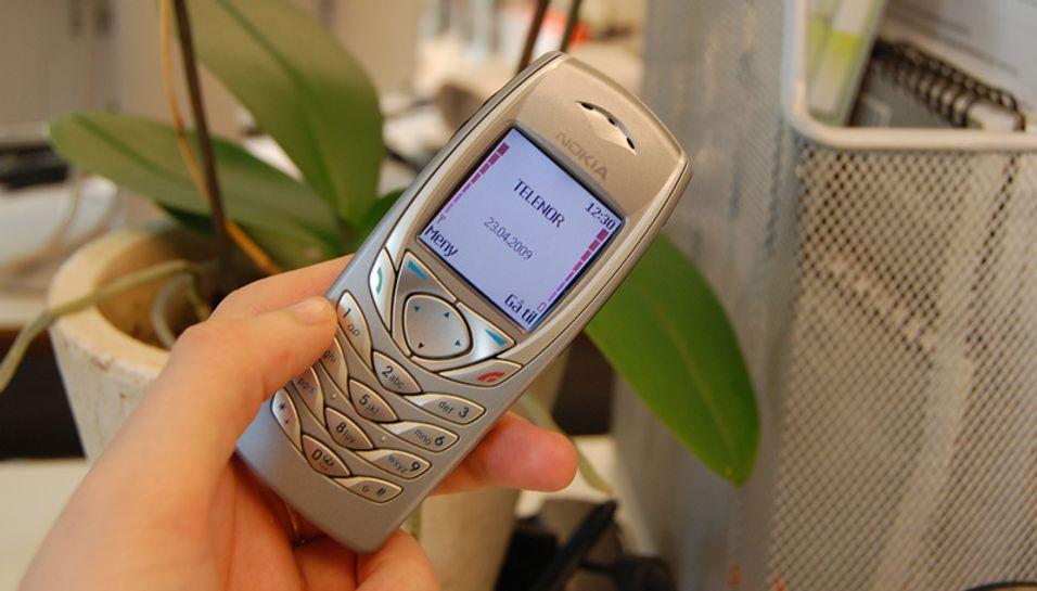 Gode, gamle Nokia 6100.