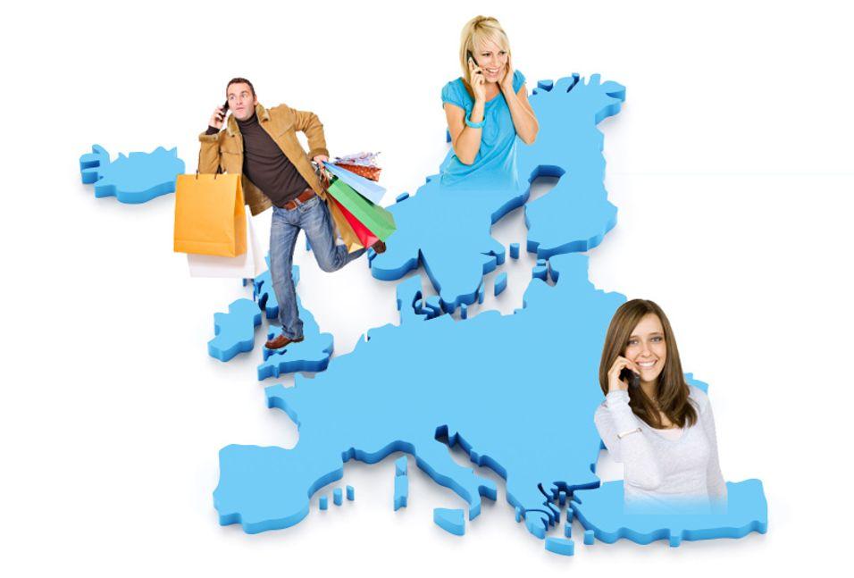 Prisene for å ringe og surfe fra utlandet i EU- og EØS-land går drastisk nedover.