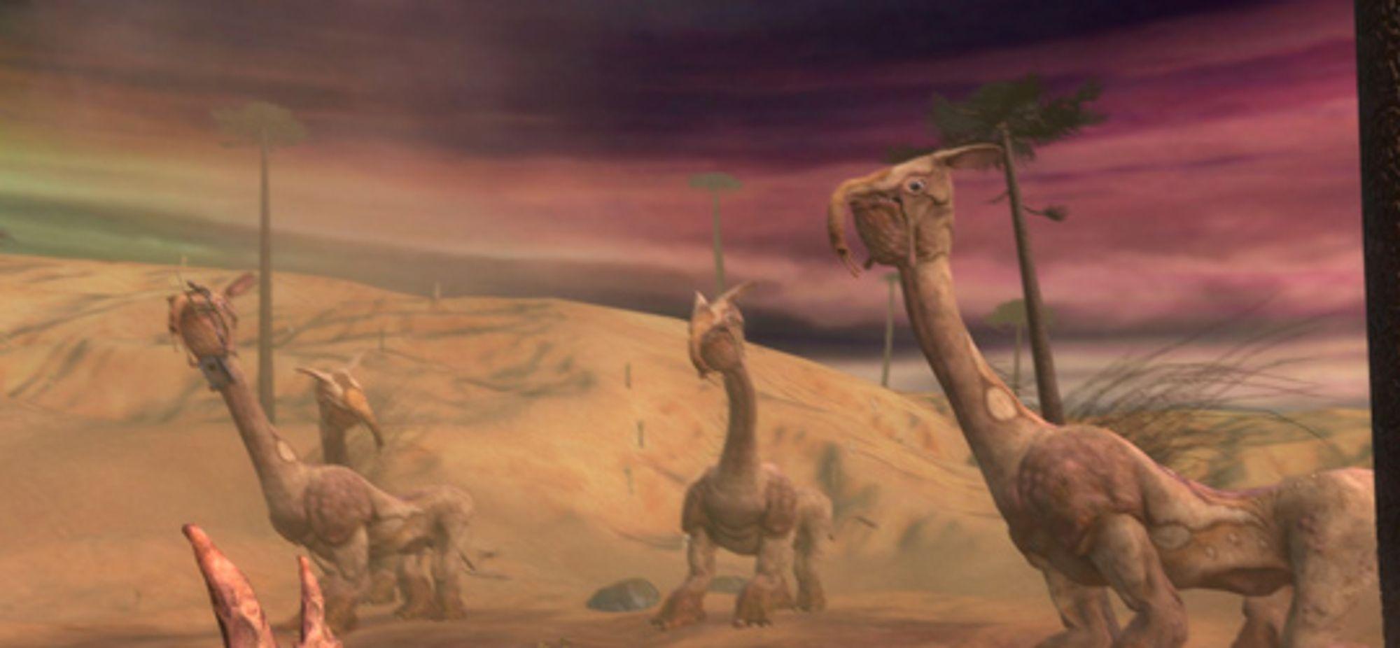 Sære ørkendyr. Gled deg til bosskampen her.