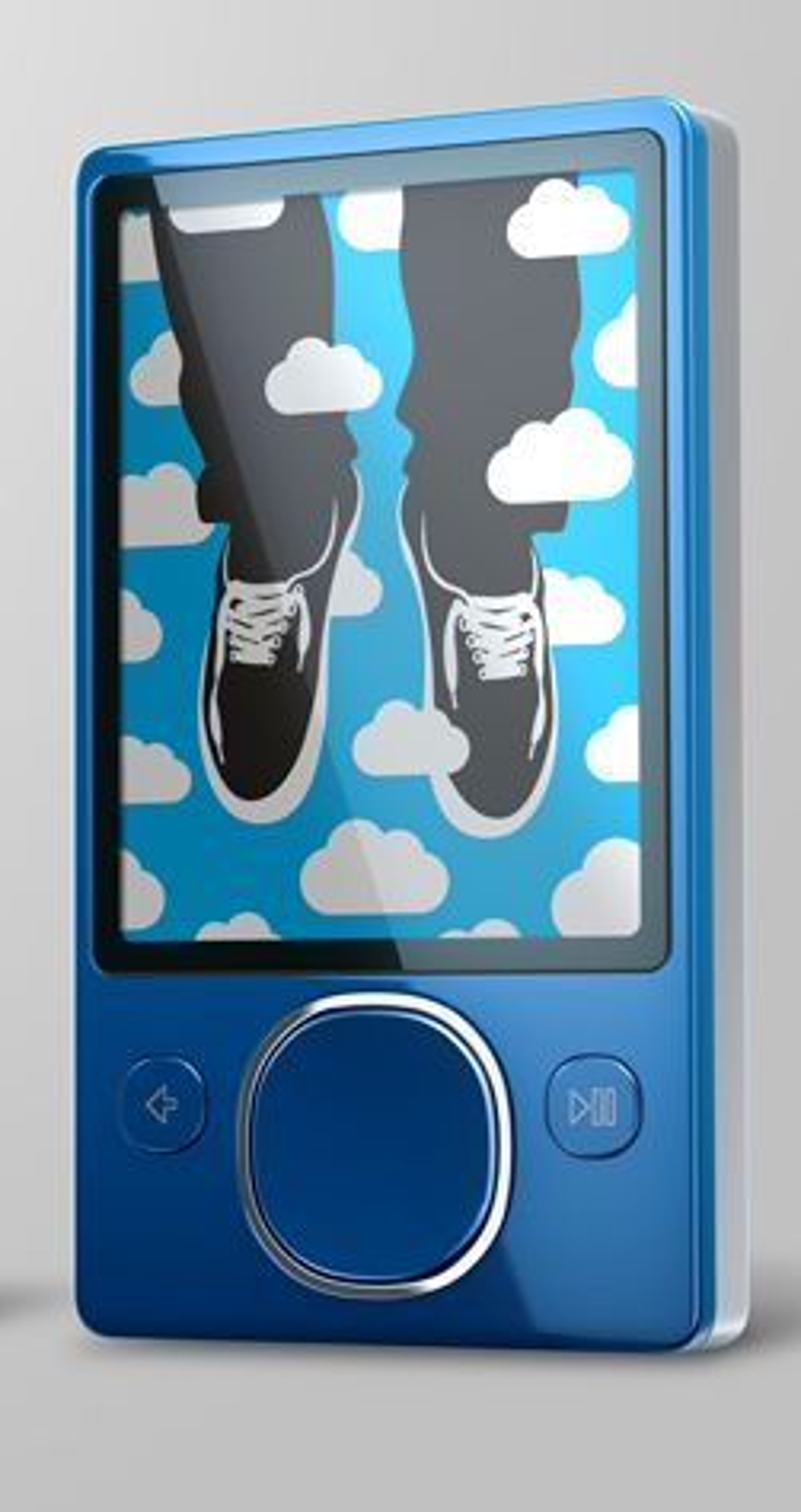 For ordens skyld: Dette er Zune 2, og ikke en Microsoft-telefon. (Foto: Microsoft)