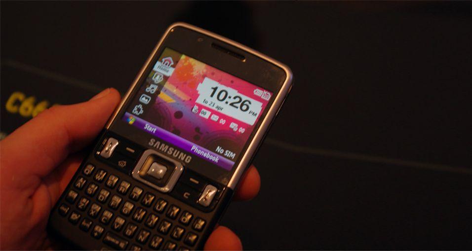 SNIKTITT: Samsung C6625