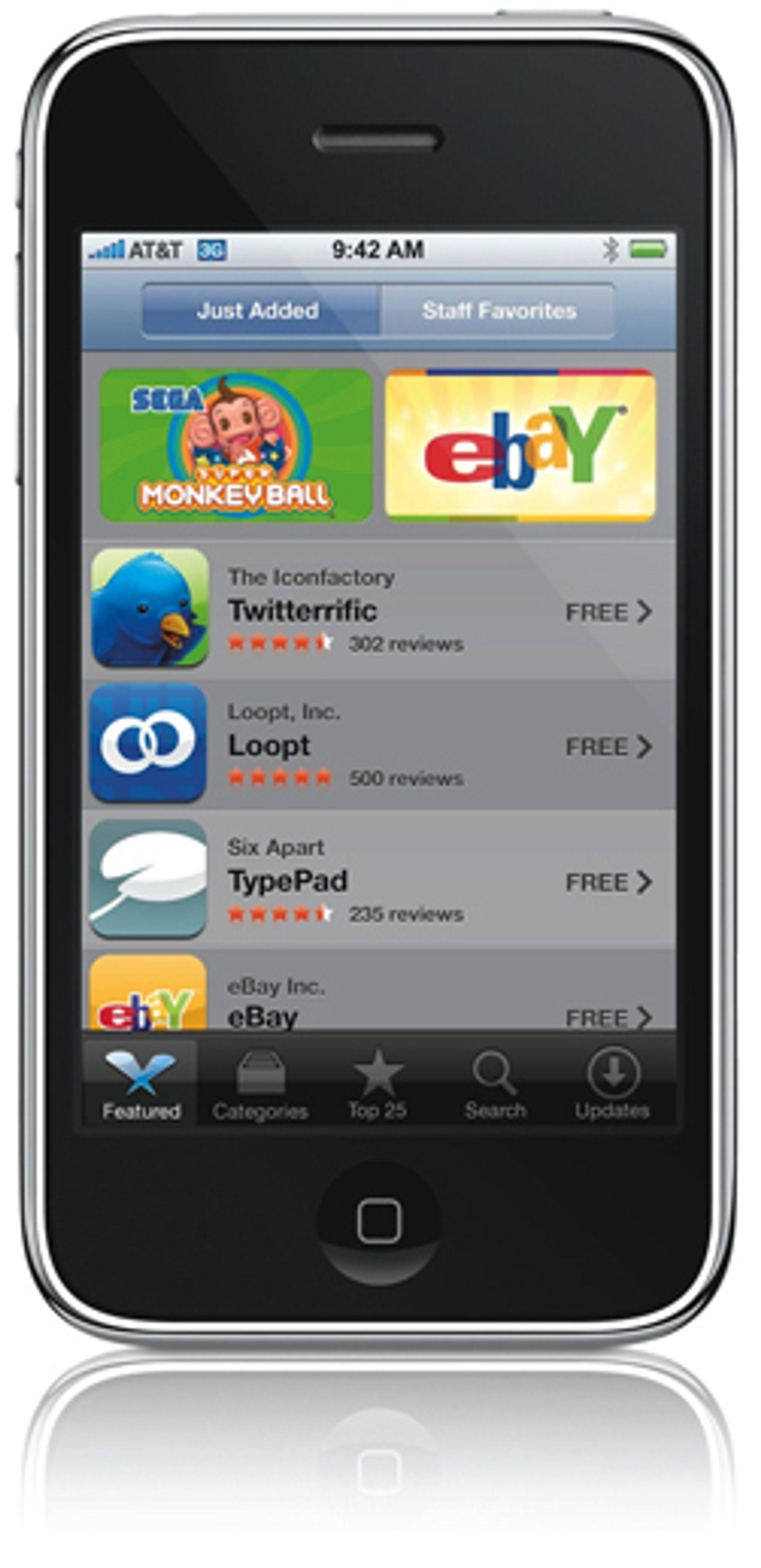 App Store er en av forklaringene på Iphones suksess.