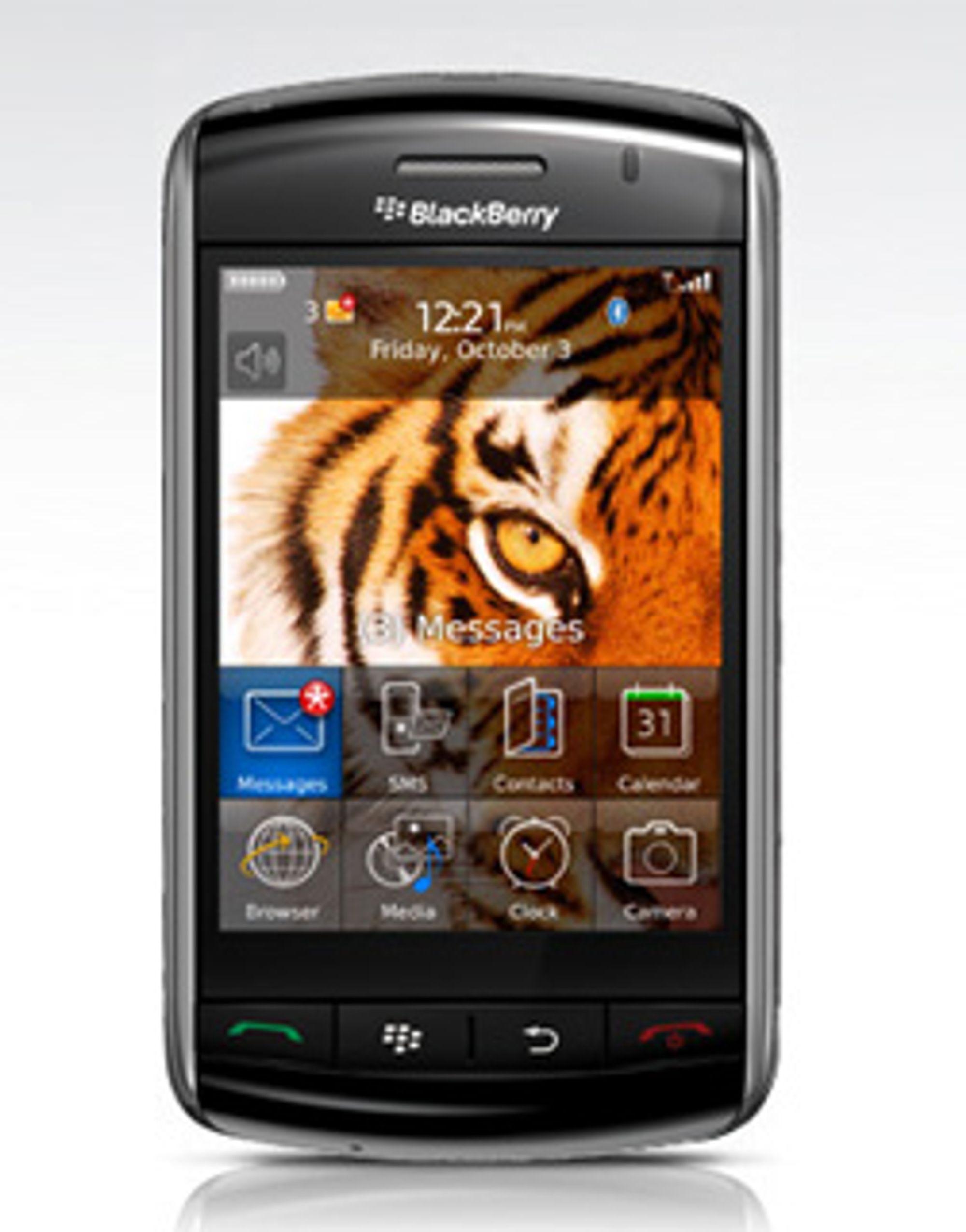 Blackberry Storm for en oppfølger. (Foto: RIM)