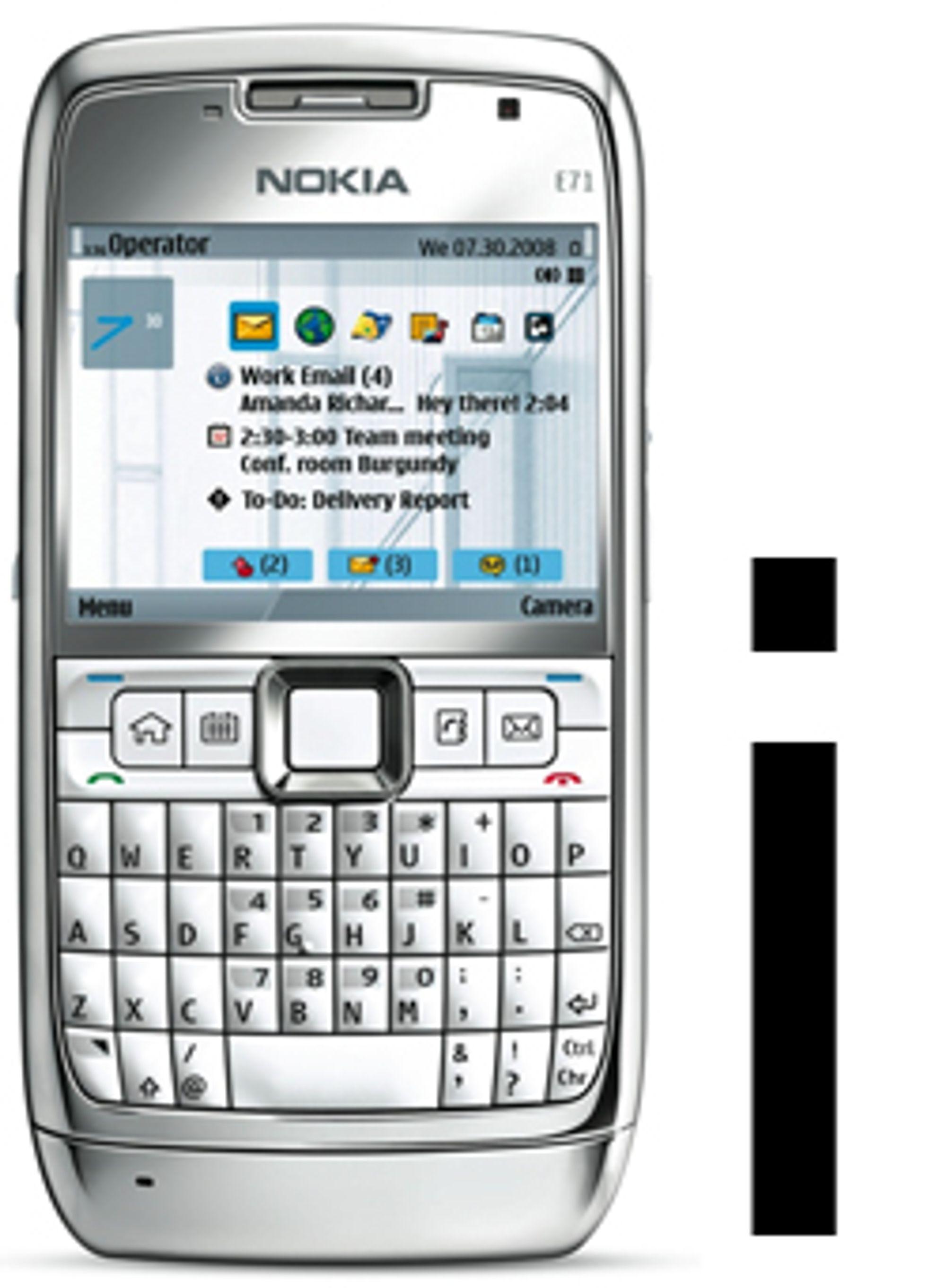 En i-versjon av E71 er angivelig på vei.