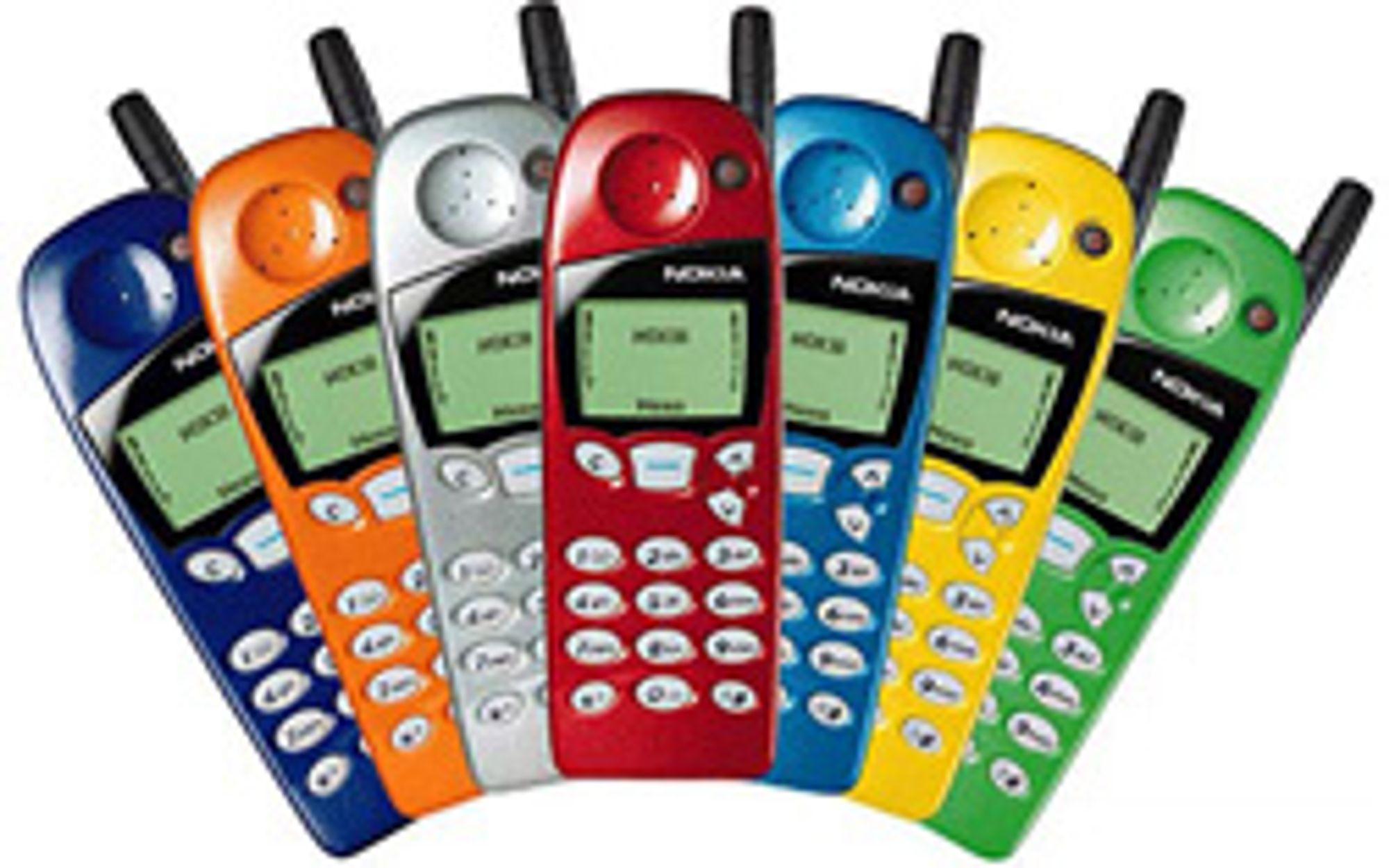 Nokia 5110 ble et moteikon. (Foto: Nokia)