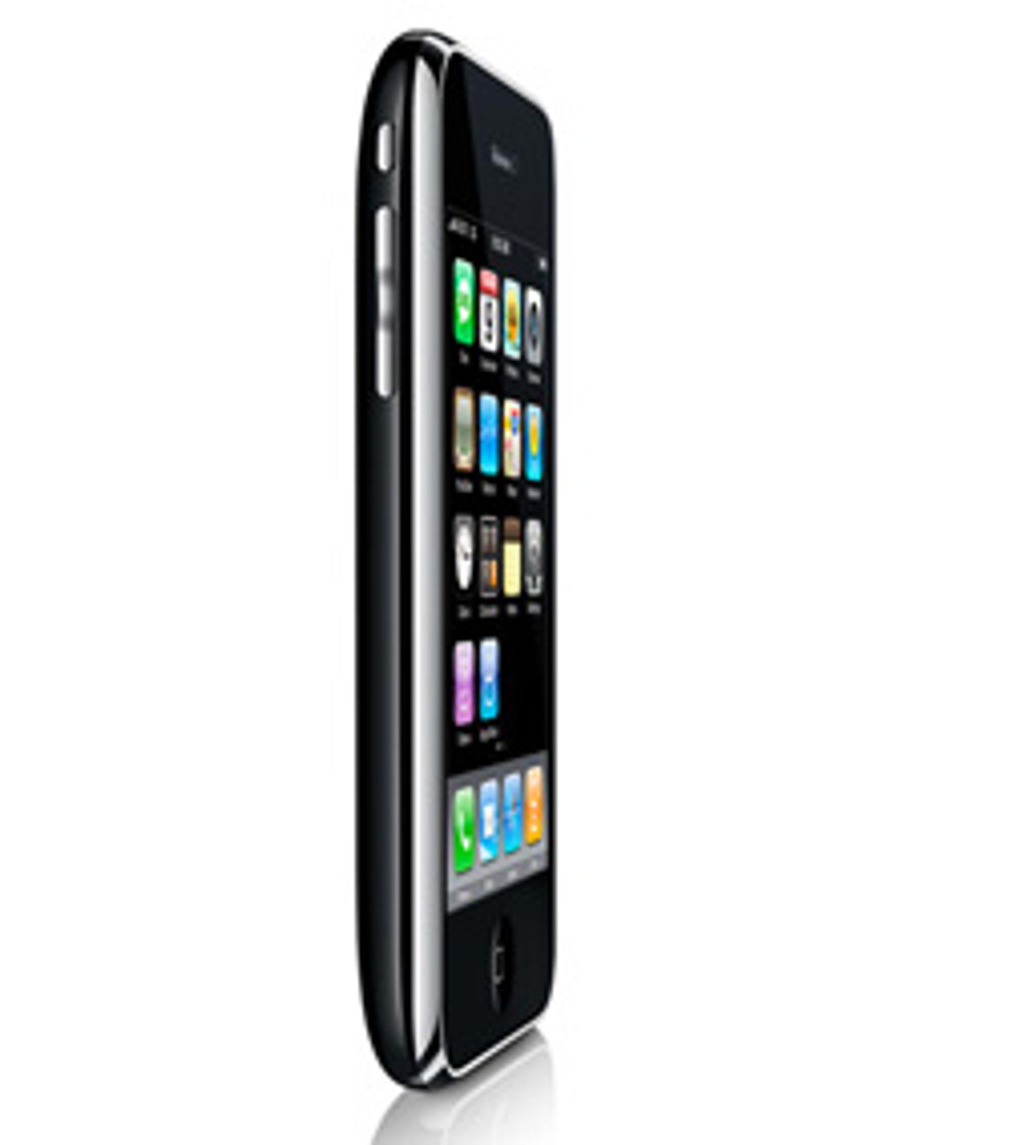 Iphone 3G kan få en oppfølger. (Foto: Apple)