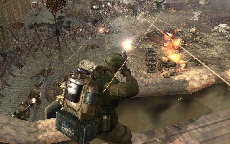 Скачать патчи для Company of Heroes с AG.ruof Heroes (2006) PC скач.