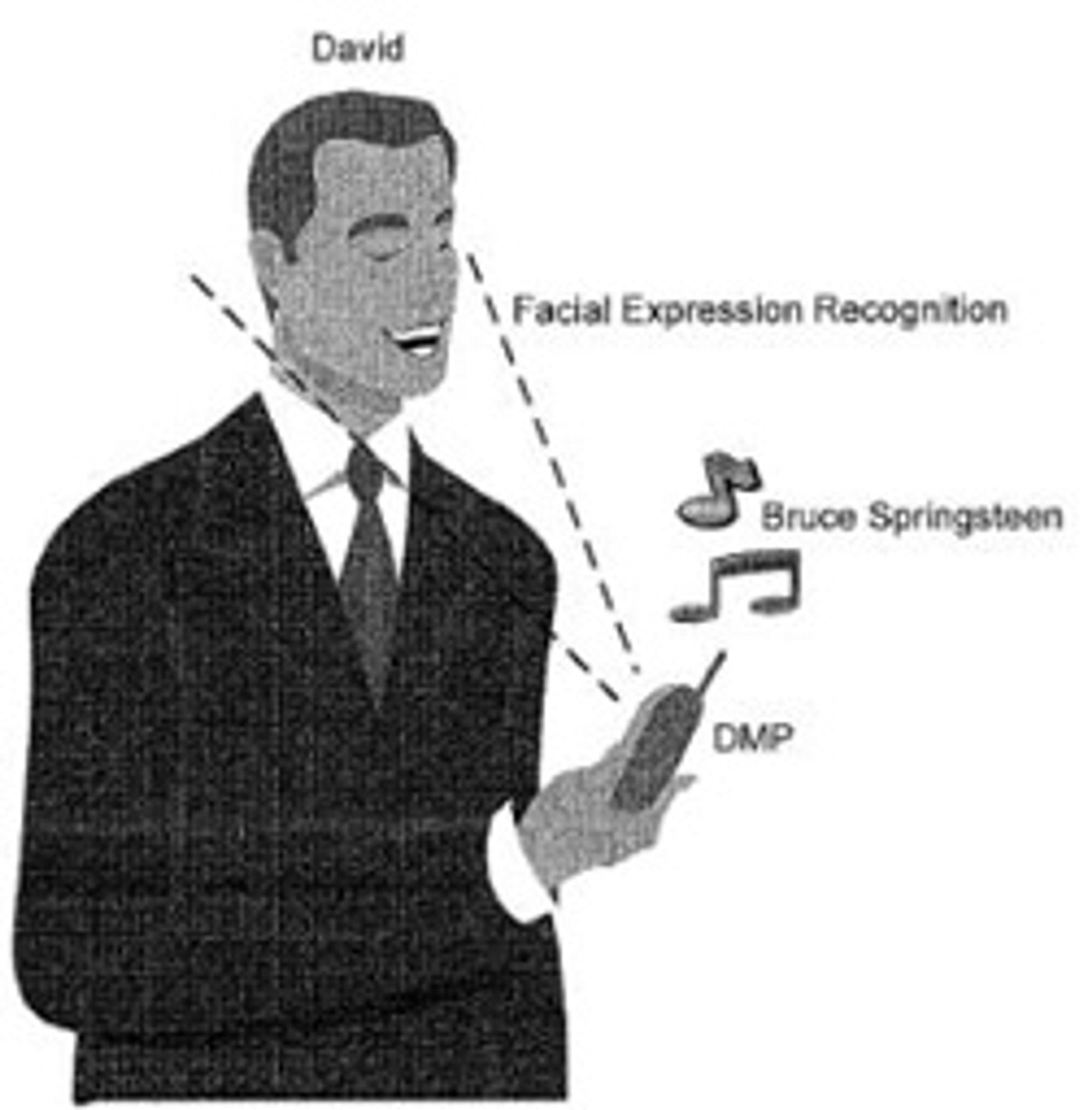 Patenttegning fra Sony Ericsson. (Bilde: Sony Ericsson)