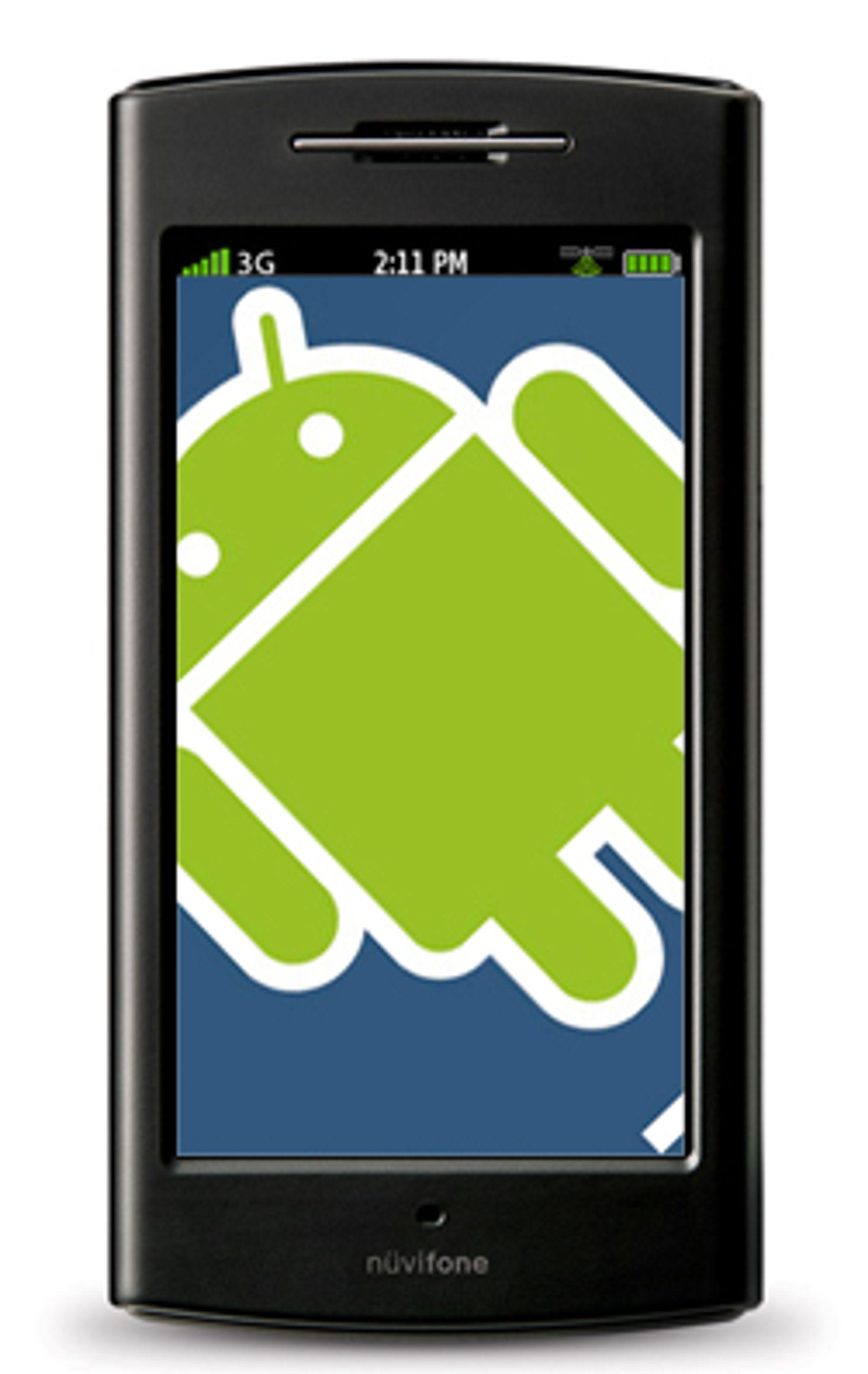 Garmin-Asus kommer med Android.