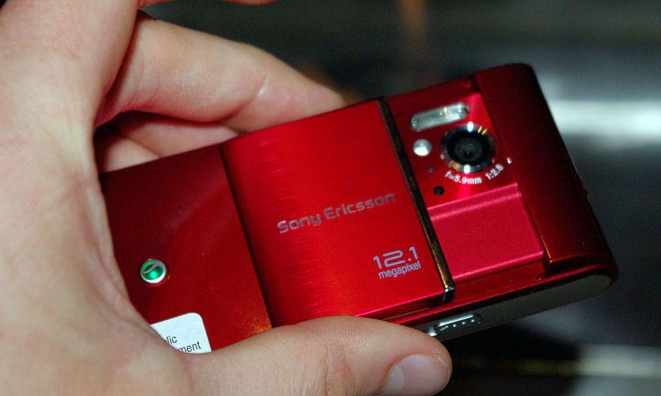 Sony Ericsson Satio har et kamera med 12,1 megapikslers oppløsning.
