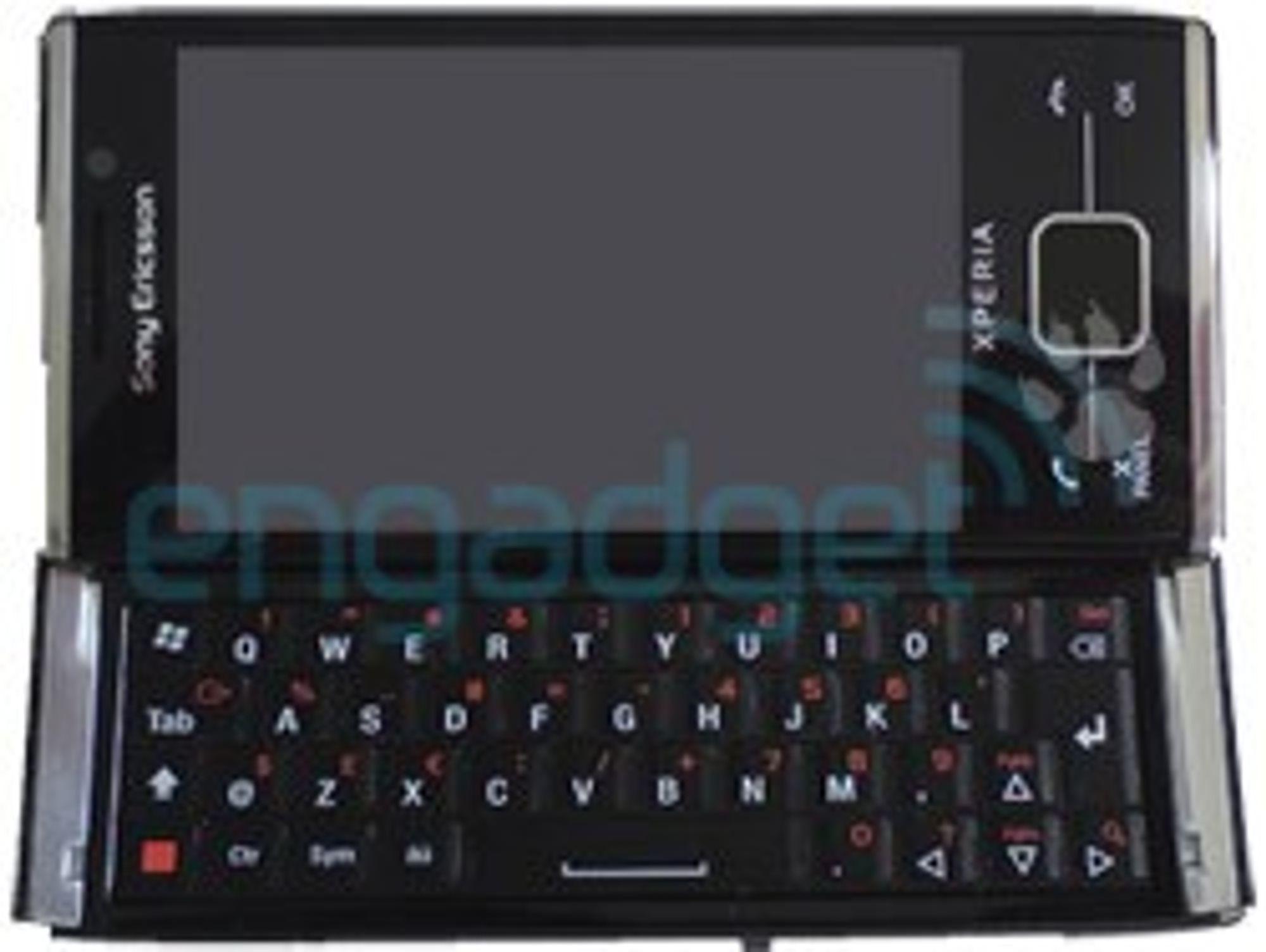 Dette hevdes å være Sony Ericsson Xperia X2.