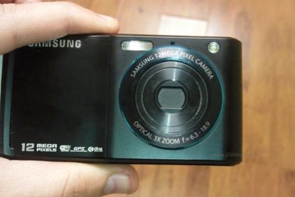 Dette bildet dukket opp på et forum, og viser sannsynligvis en ny toppmodell fra Samsung.