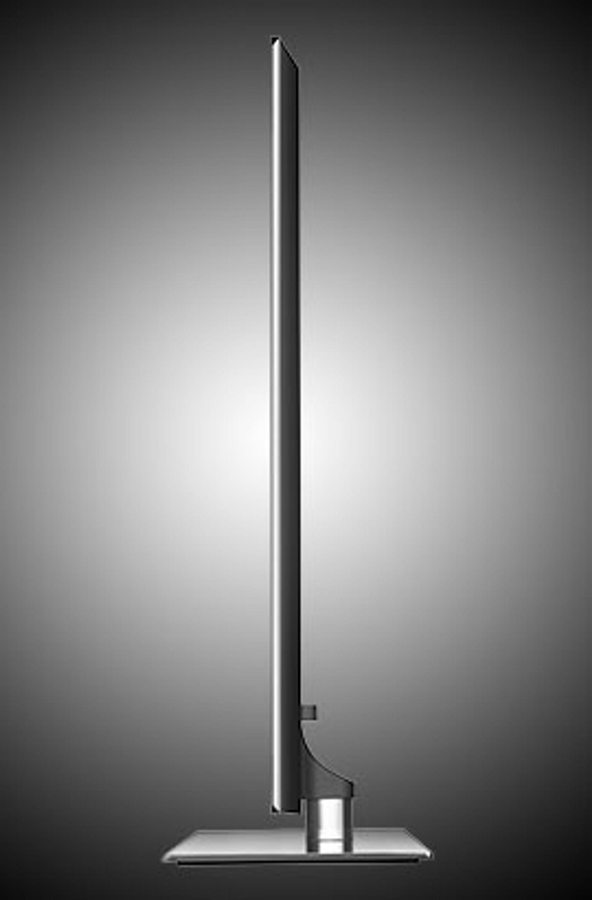 De tynne, lekre LED LCD-TV-ene blir stadig mer populære