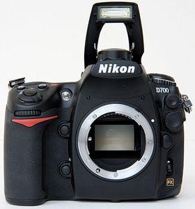 Nikon passer på å holde selv sine aldrende modeller oppdatert. Her ved Nikon D700.