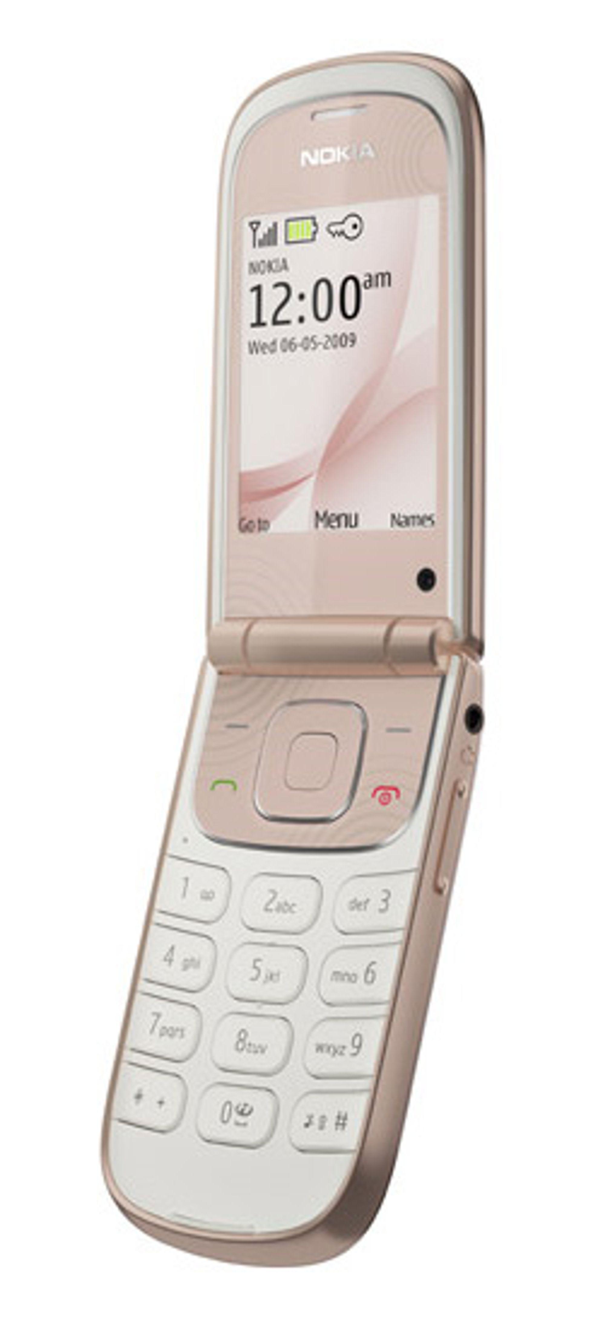 Slik ser Nokias 3710 fold ut. (Foto: Nokia)
