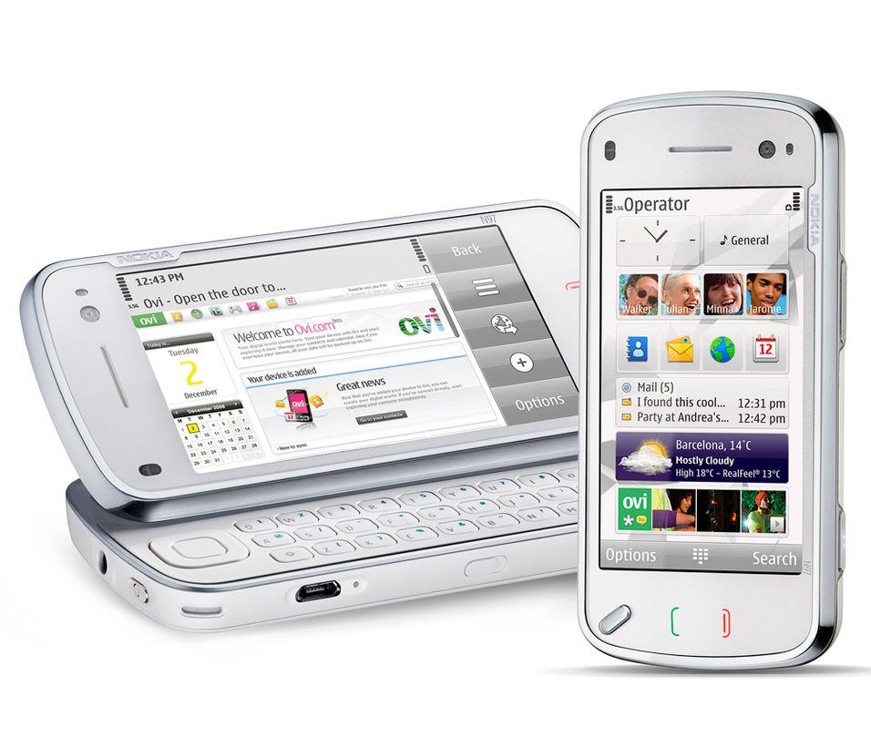 Nokia N97 i butikkene