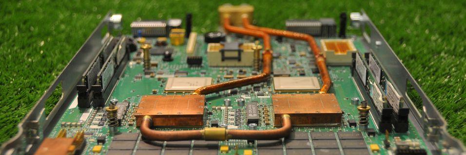 Superdatamaskin som fjernvarme