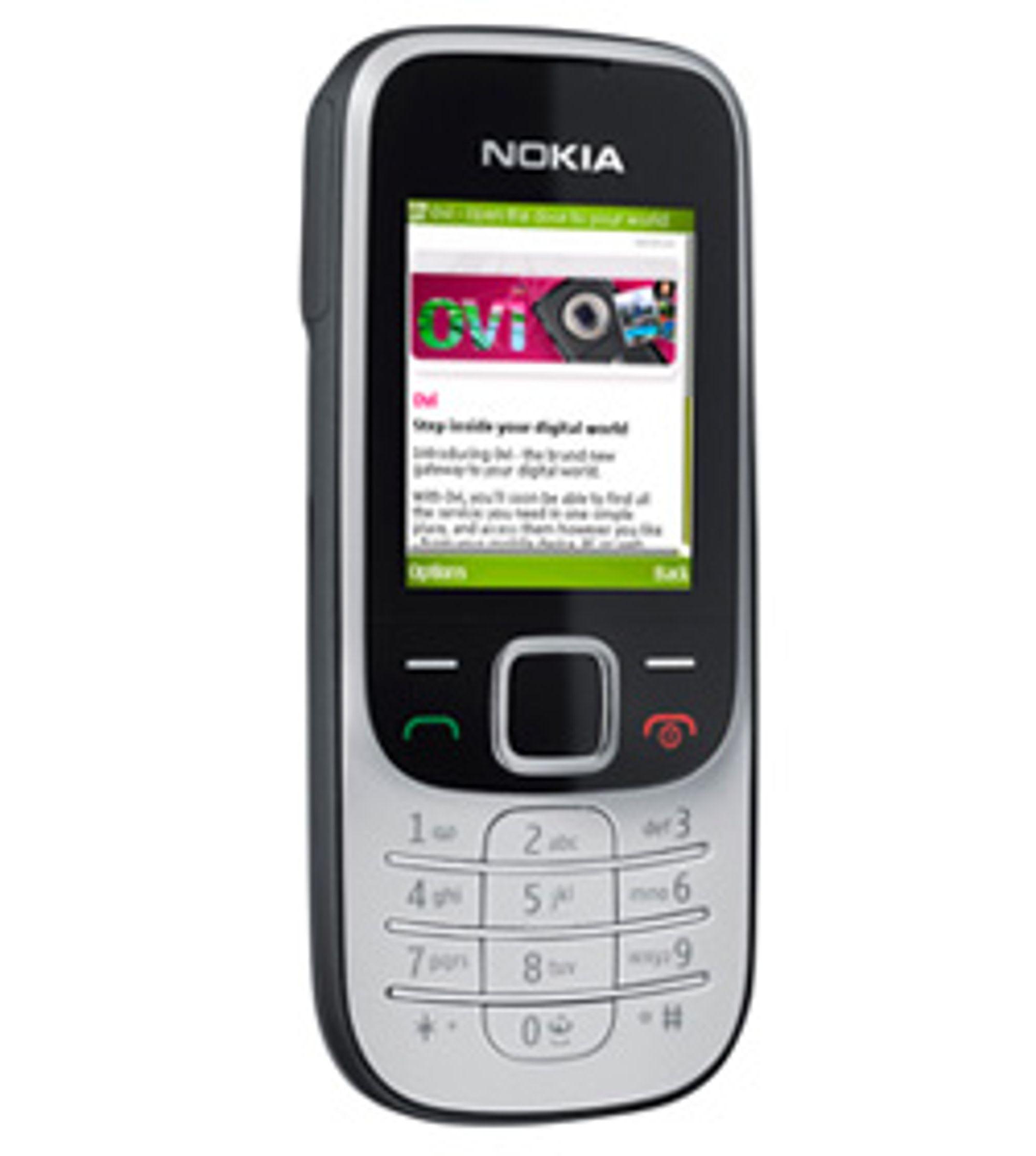 Nokia 2330 classic. (Foto: Nokia)