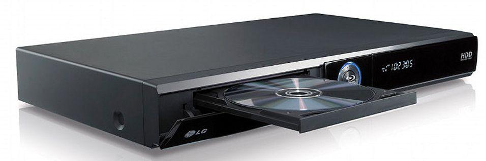 LG HR400 kommer blant annet med harddisk, DVB-T-tuner og nettilgang