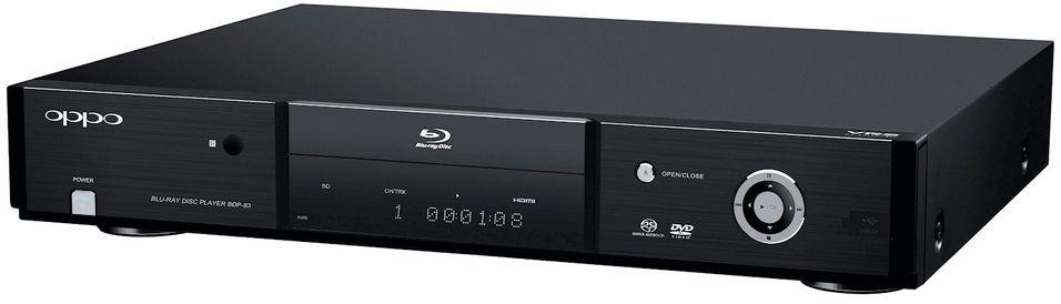 Oppo BDP-83: Spiller både Blu-ray, SACD og DVD-Audio