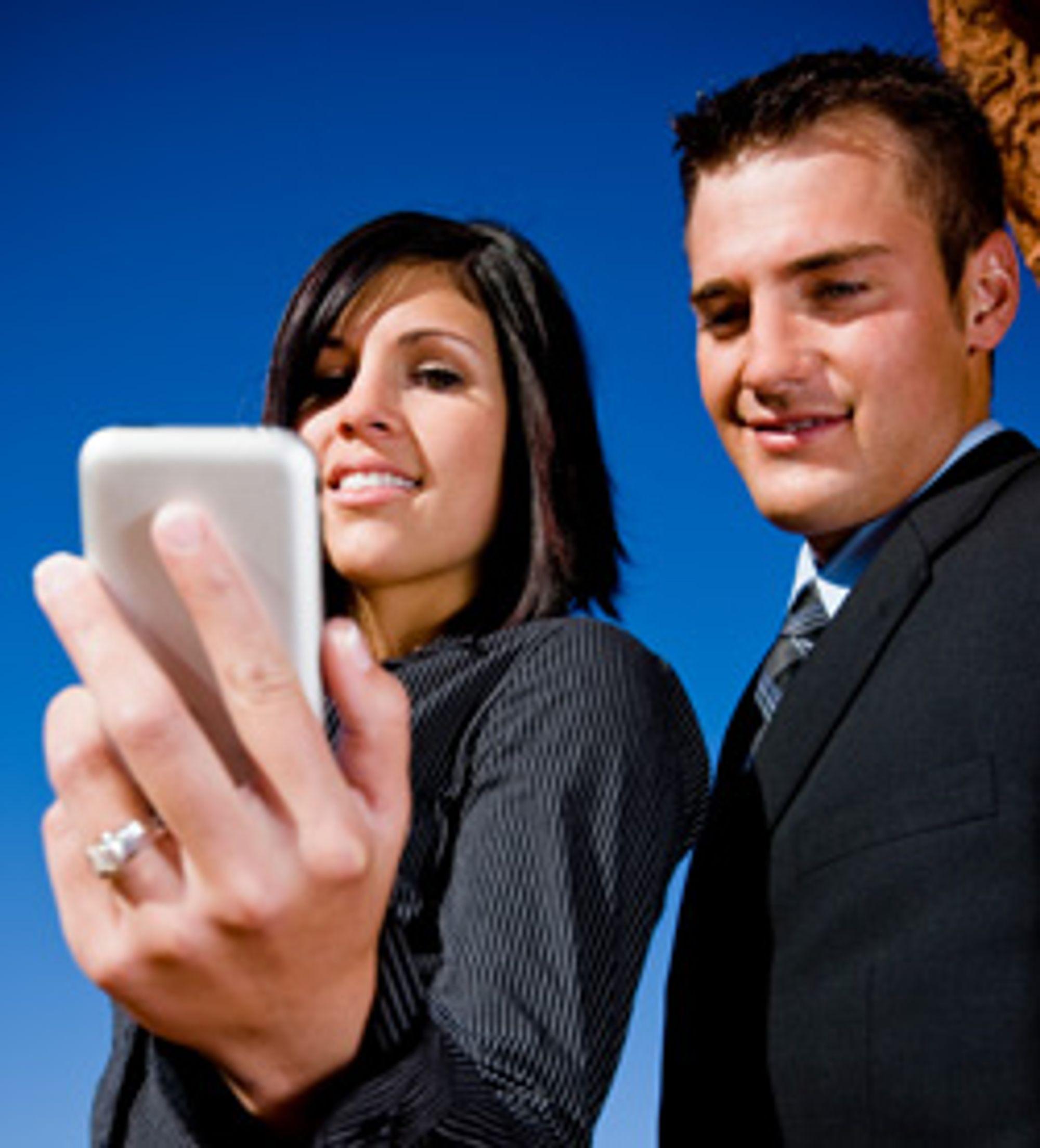 Bevegelsessensor i mobilen vil bli mer populært i fremtiden, spås det. (Foto: Istockhoto)
