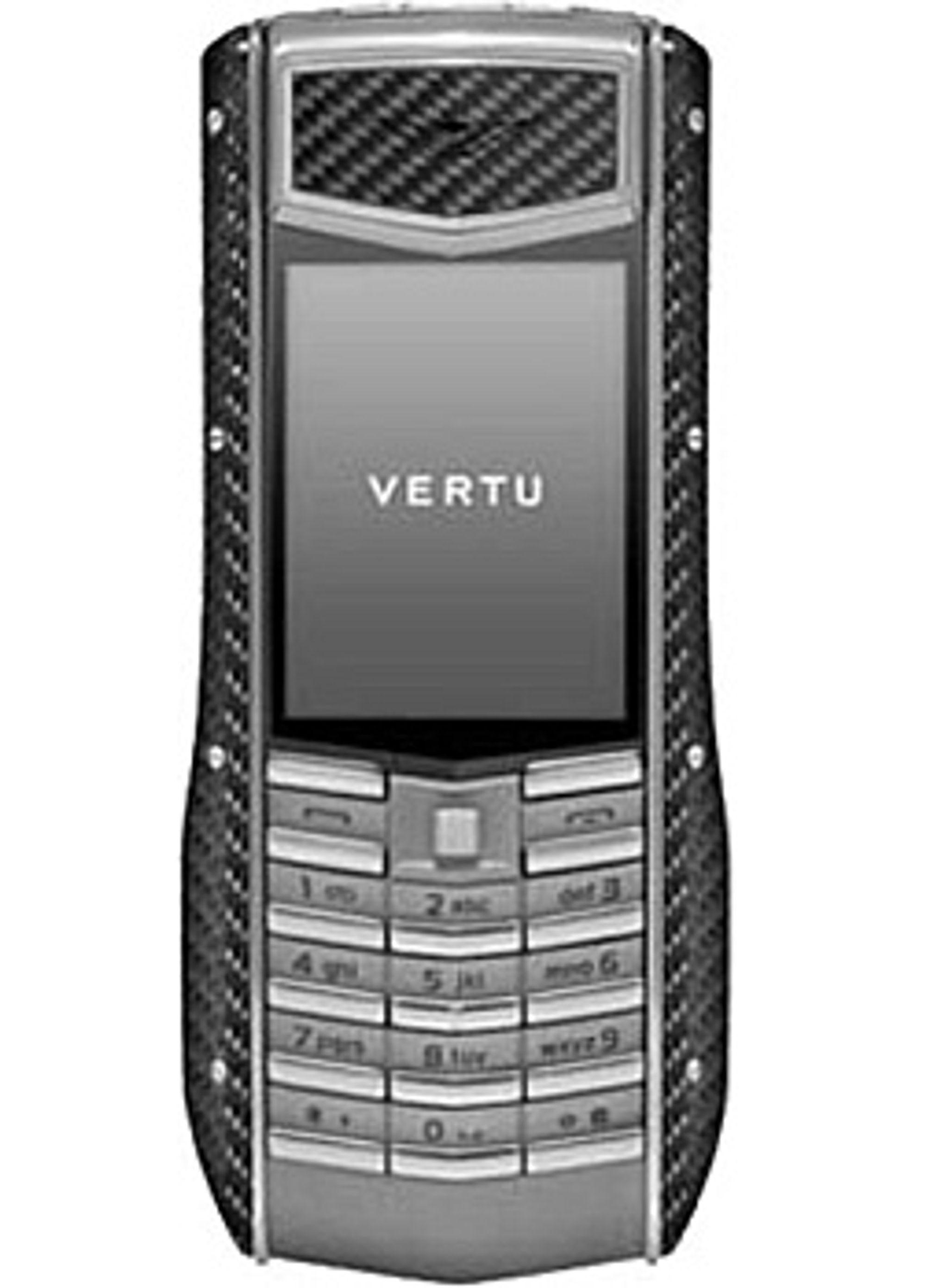 Vertus kommende Ascent Ti Carbon Fiber. (Foto: Nokia)