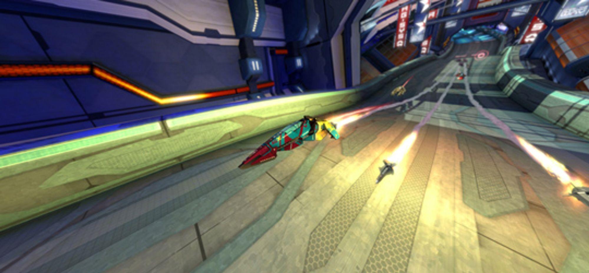 Halsbrekkende fart og masseødeleggelsesvåpen kombineres i Eliminator-modusen.