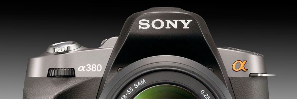 TEST: Sony Alpha A380