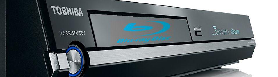 Toshiba går omsider for Blu-ray (illustrasjonsbilde)
