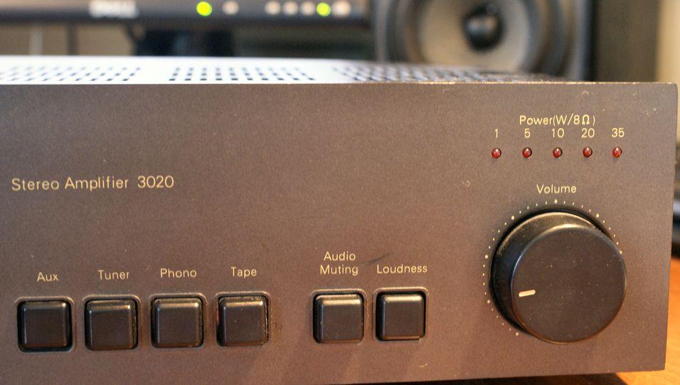 Loudness: Godt brukt knapp på godt brukt forsterker