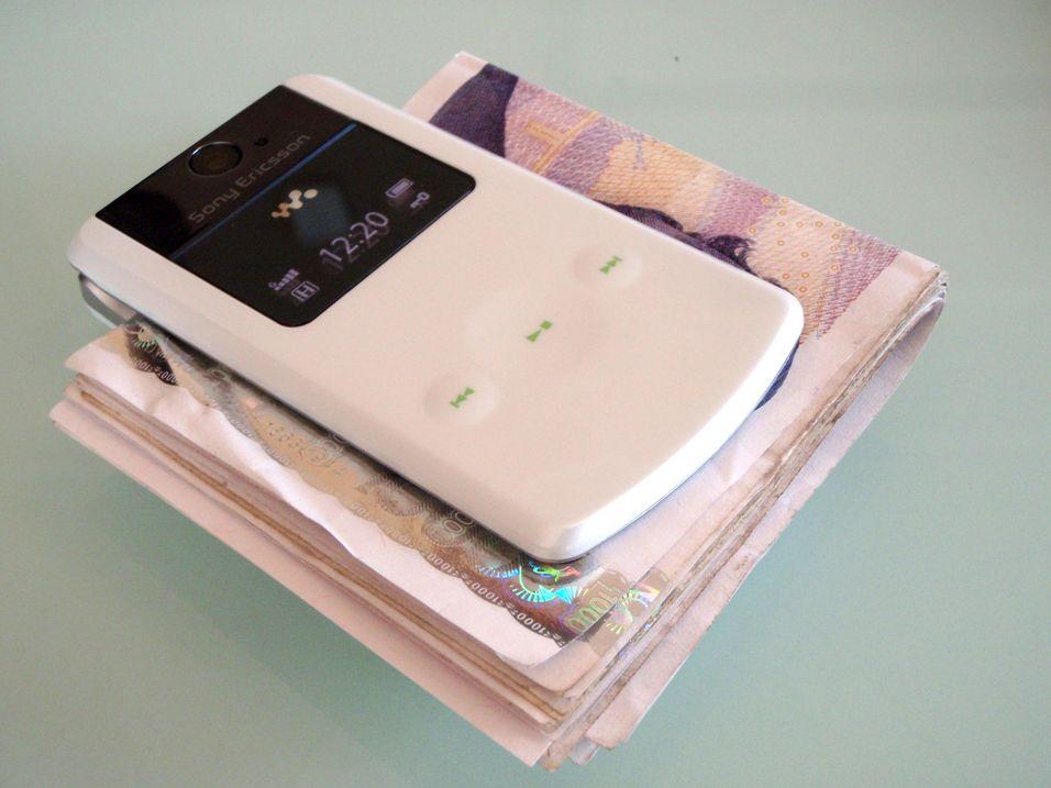 W508 er ikke videre egnet som pengeklype, men fungerer bra som telefon