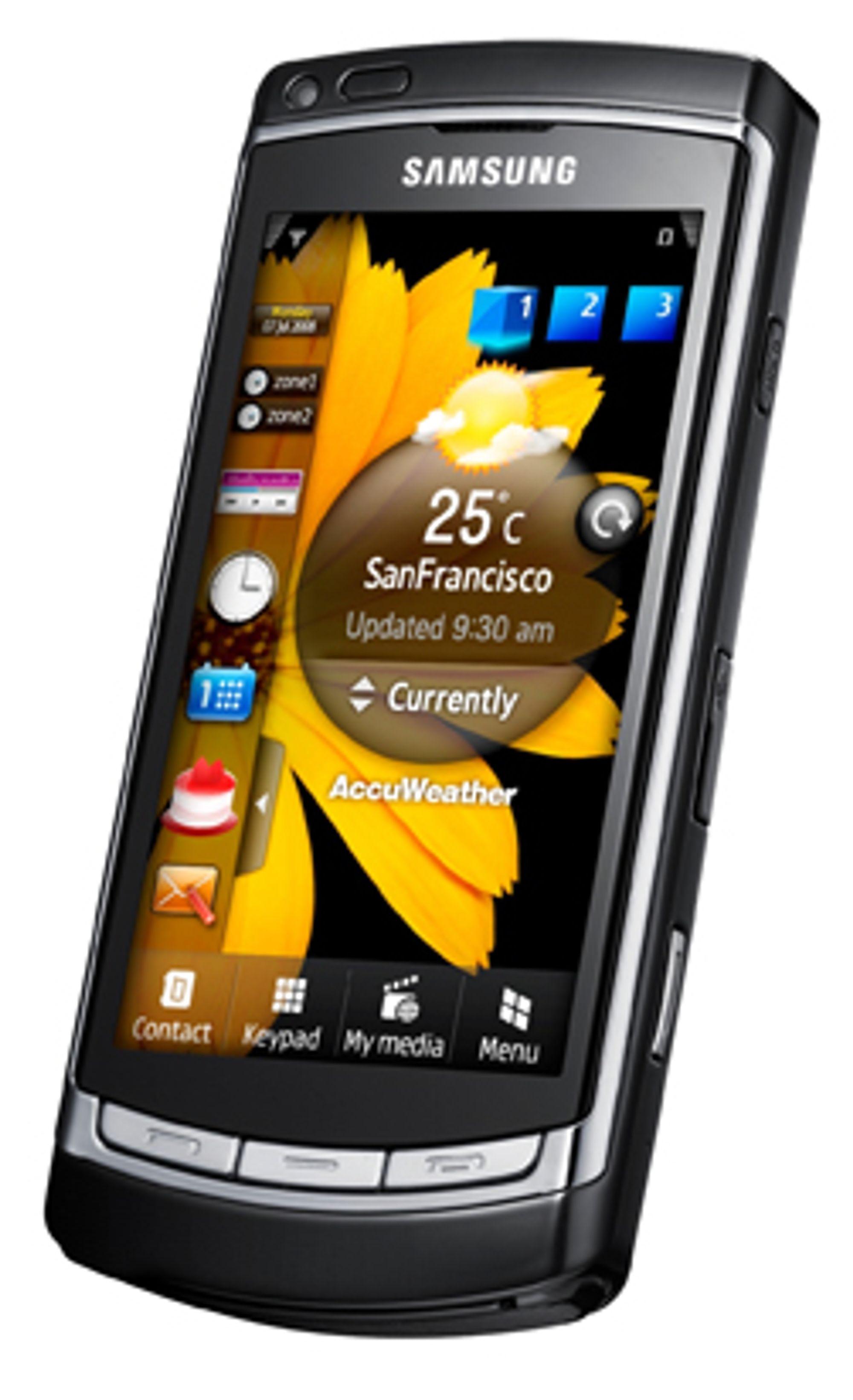 Omnia HD er en populær mobil som får tilgang til Samsungs nye programvarebutikk.