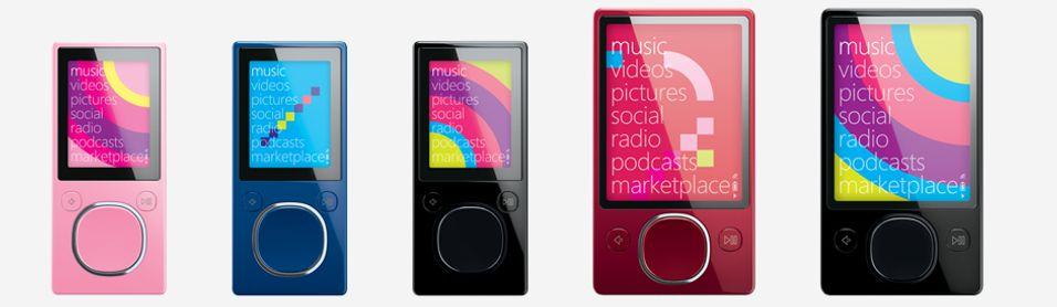 Zune-serien uten HD: Disse MP3-spillerne faser Microsoft ut