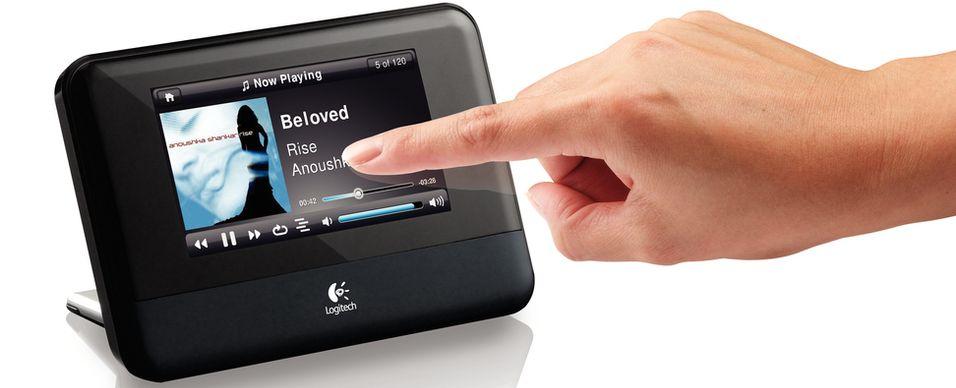 Logitechs nye nettverksspiller: Squeezebox Touch