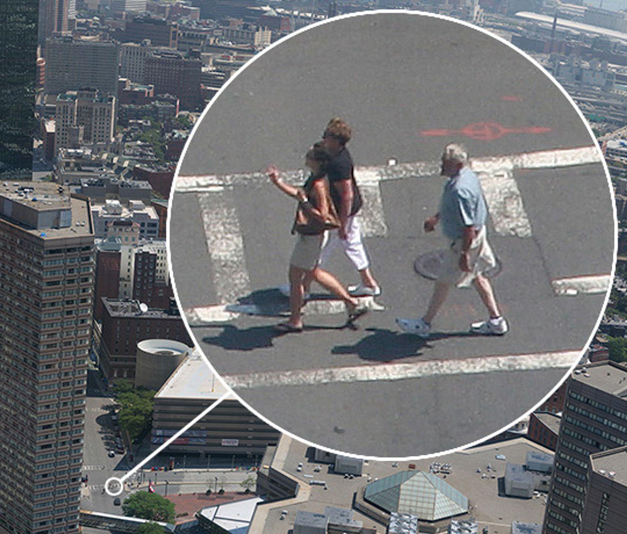 xRez Studios: Boston sett fra Prudential Tower (utsnitt). Pikselbredde: 75000, antall eksponeringer: 612. 3,2 Gigapiksler.