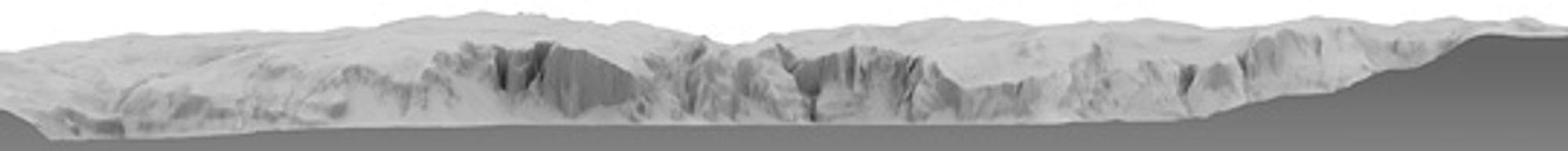 xRez Studios: Underliggende 3D-modell som de 20 panoramaene ble projisert over.