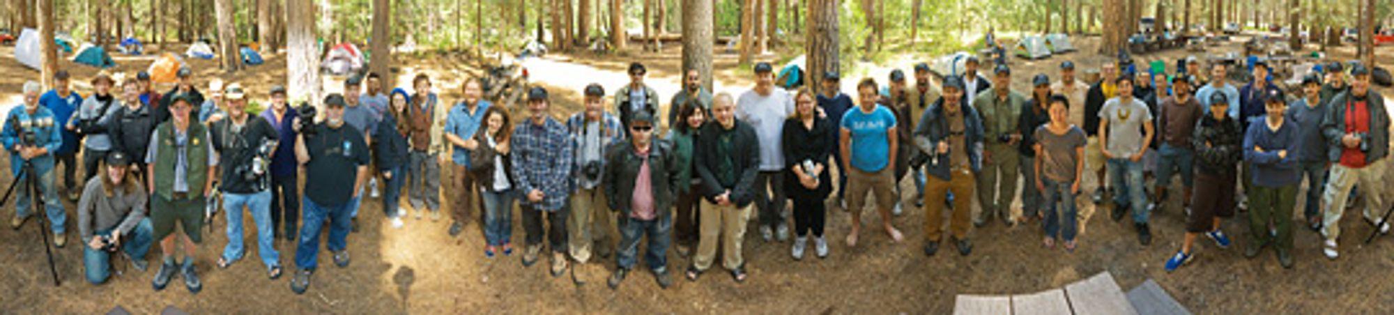 xRez Studios: Fotografer og frivillige fra Yosemite Valley.